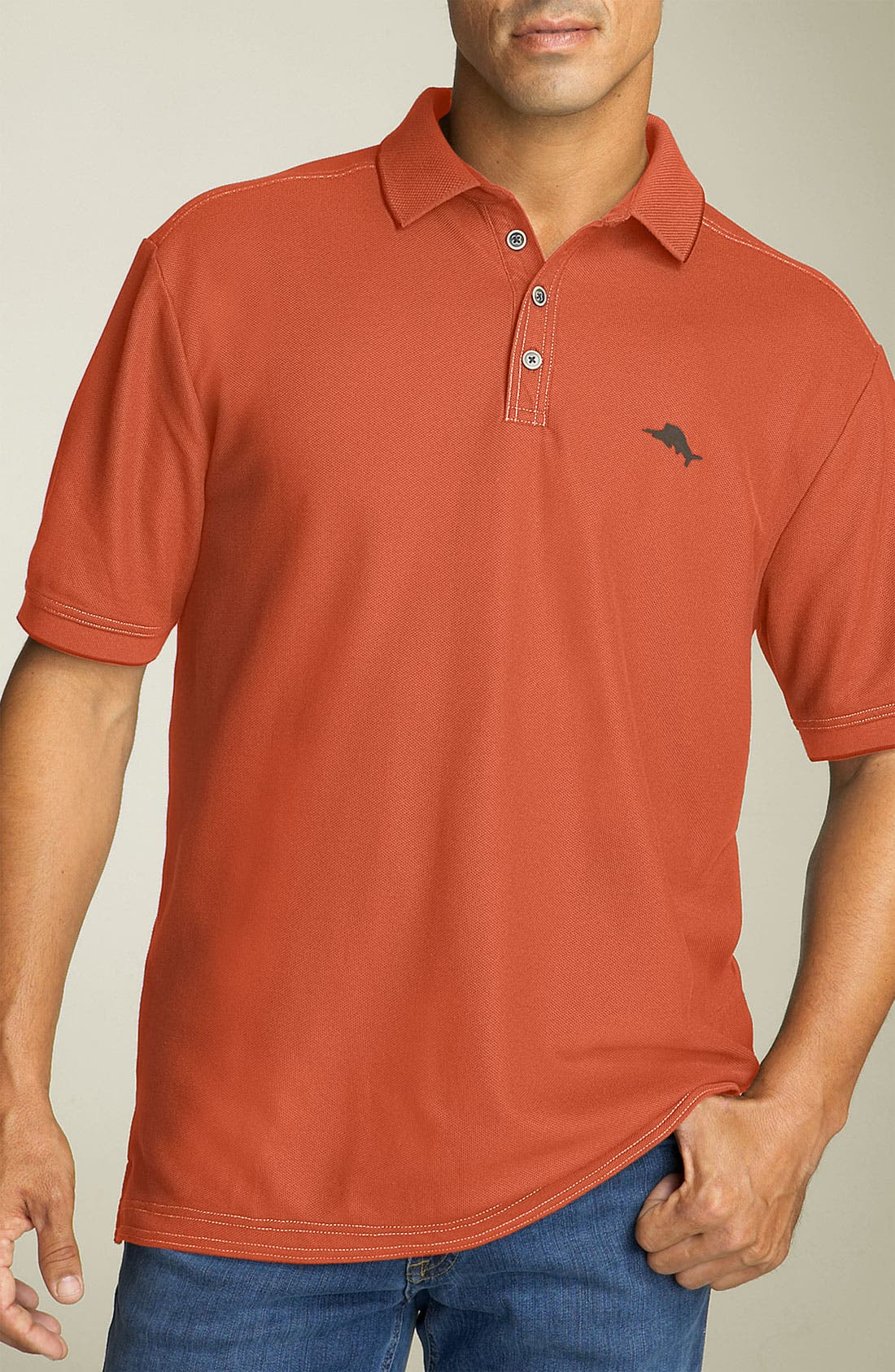 'The Emfielder' Original Fit Piqué Polo,                             Main thumbnail 121, color,