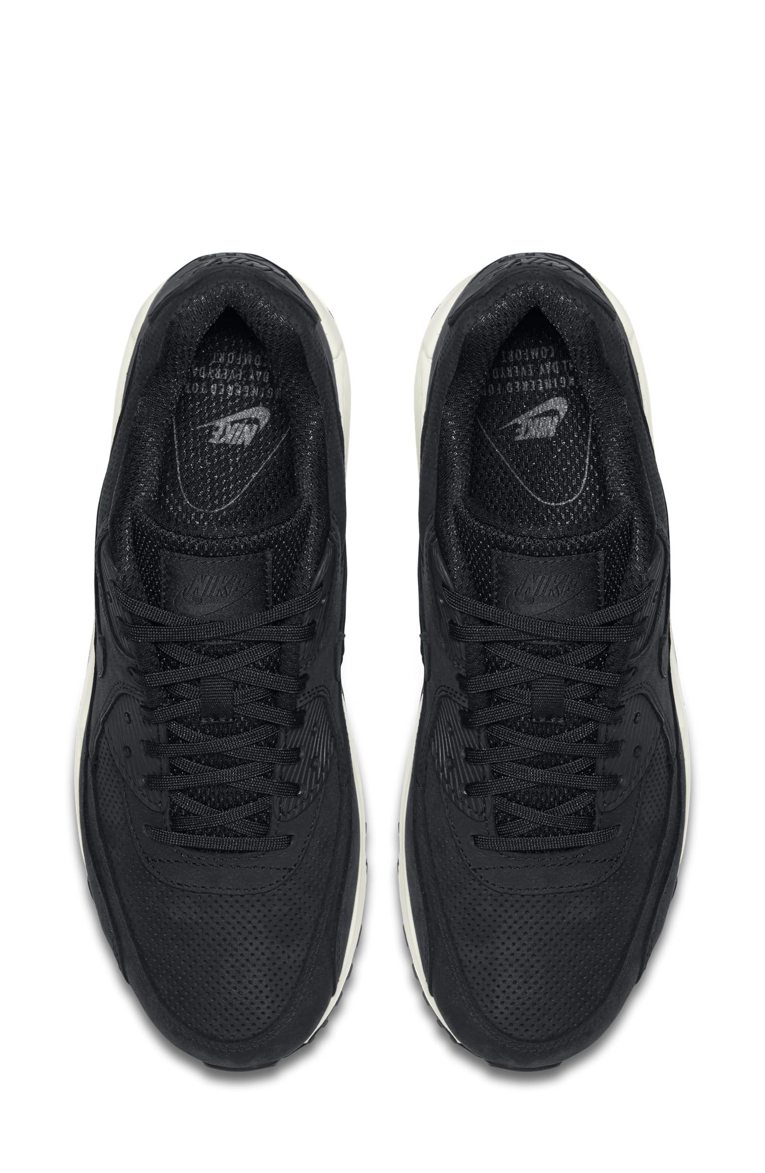 Air Max 90 Pinnacle Sneaker,                             Alternate thumbnail 4, color,                             006