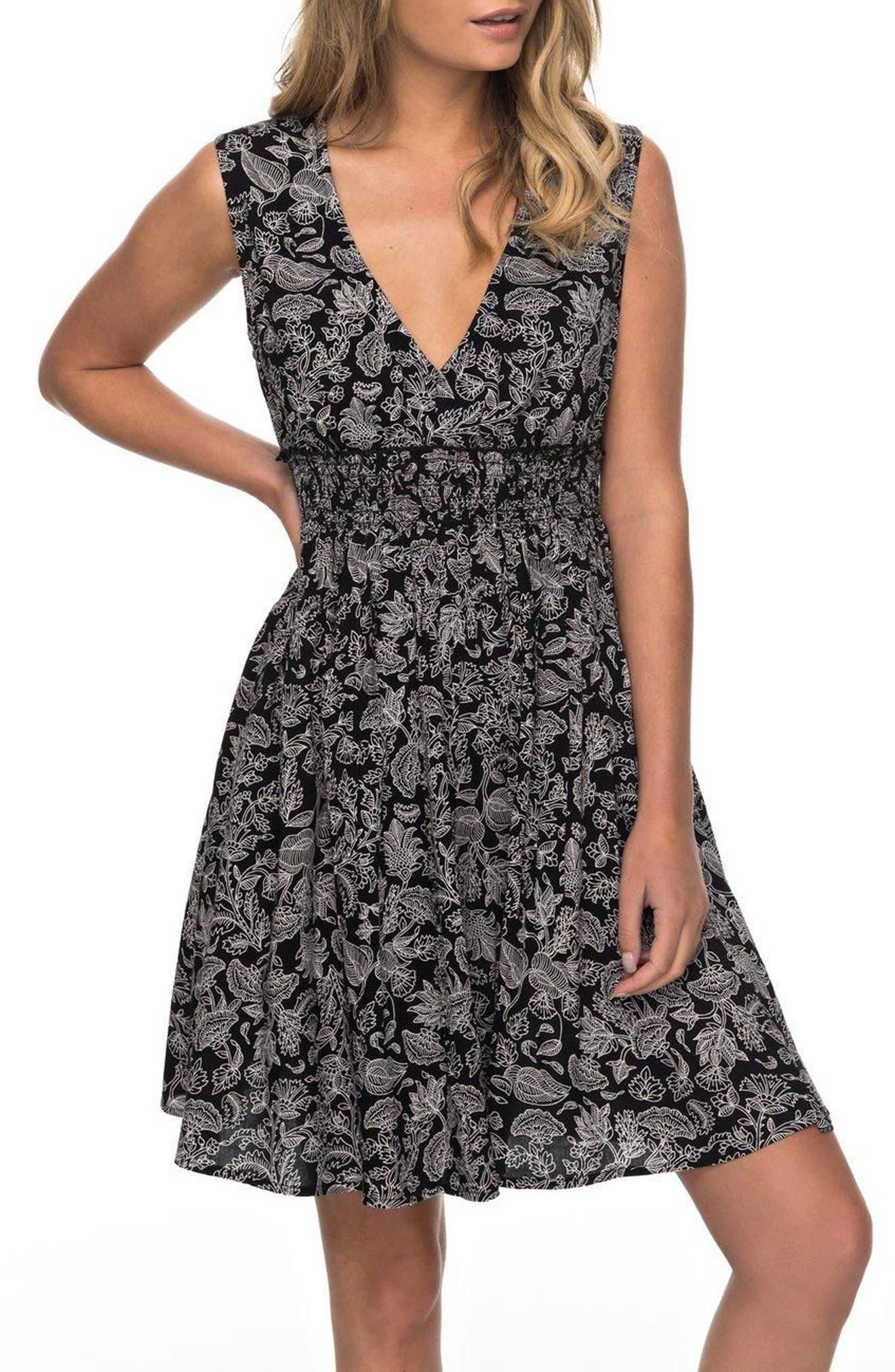 Angelic Grace Print Dress,                         Main,                         color, 002