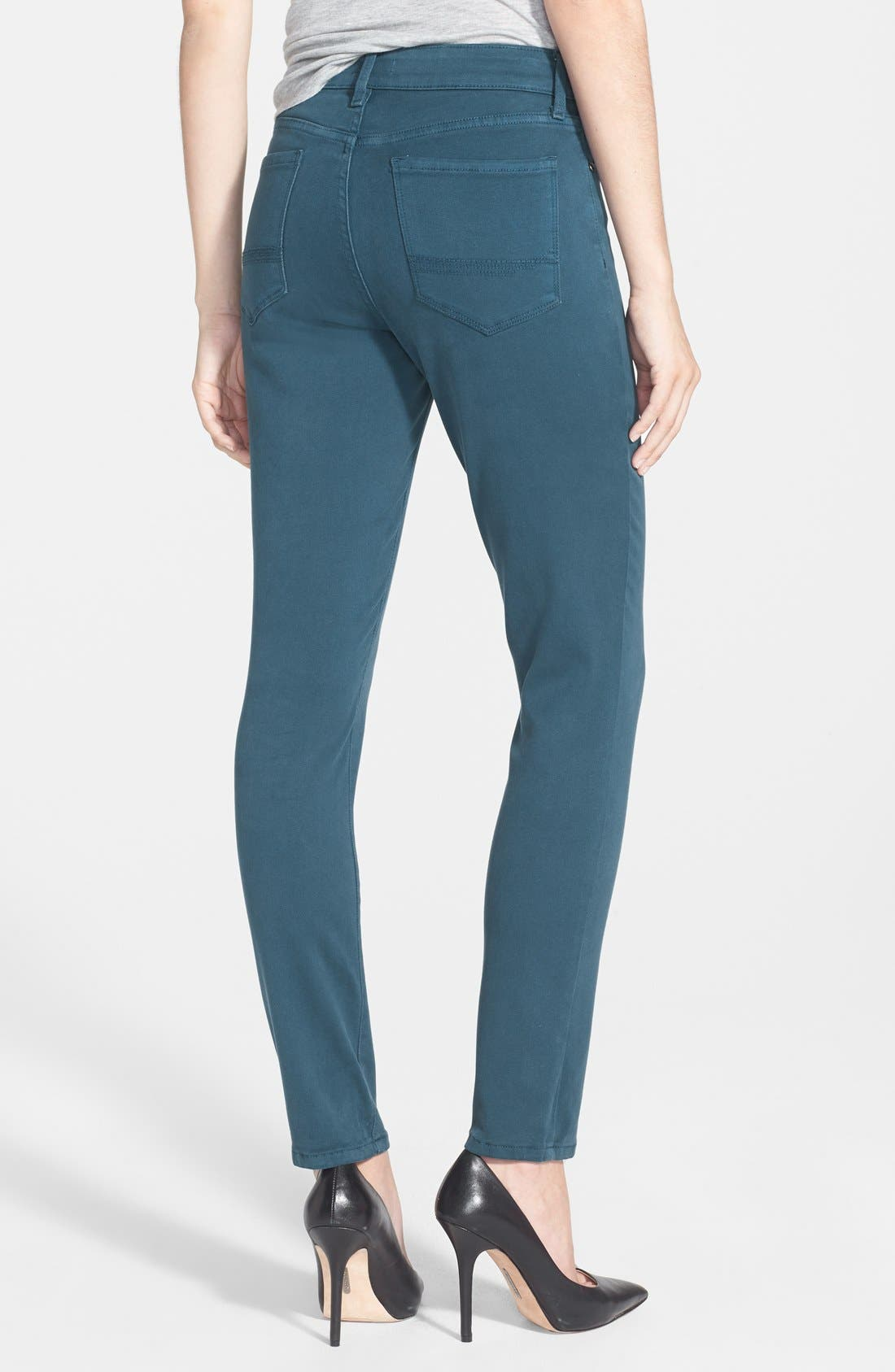 Alina Colored Stretch Skinny Jeans,                             Alternate thumbnail 61, color,