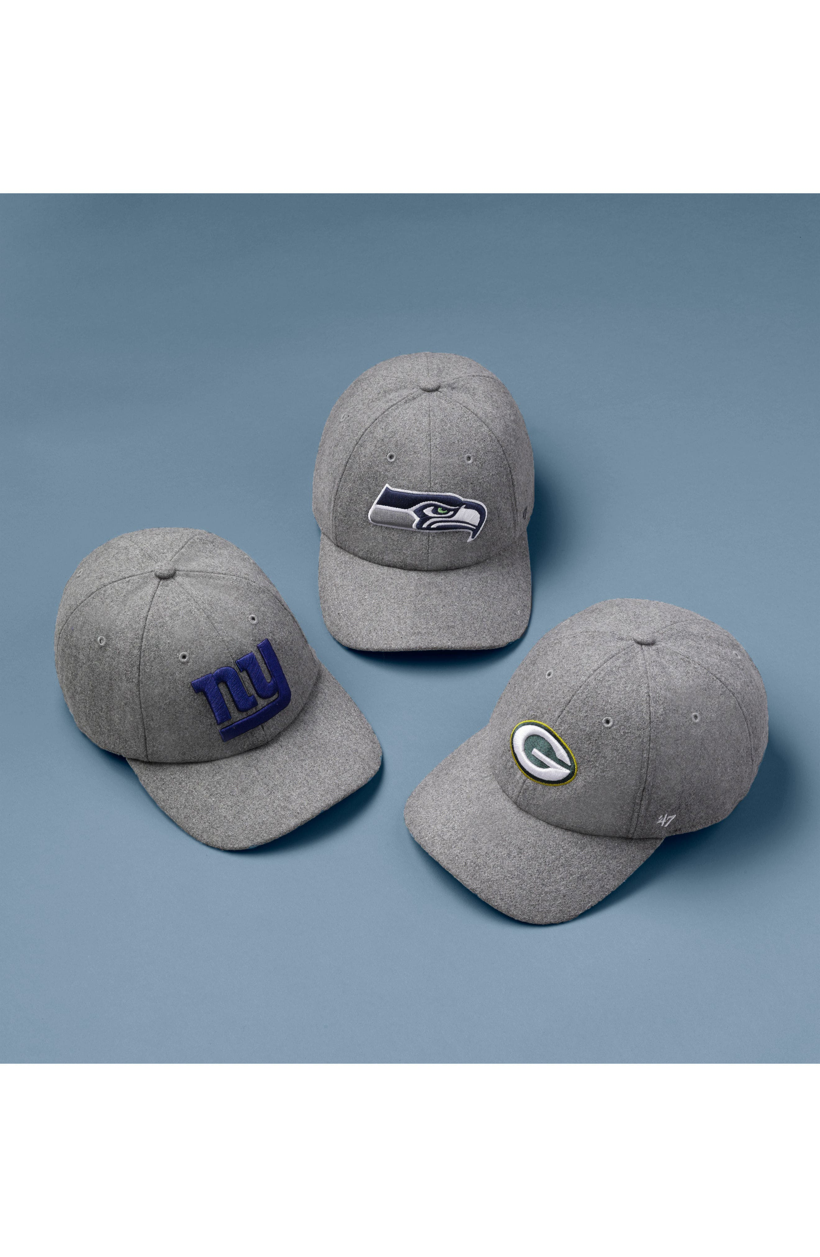 '47,                             NFL Clean-Up Ball Cap,                             Alternate thumbnail 3, color,                             020