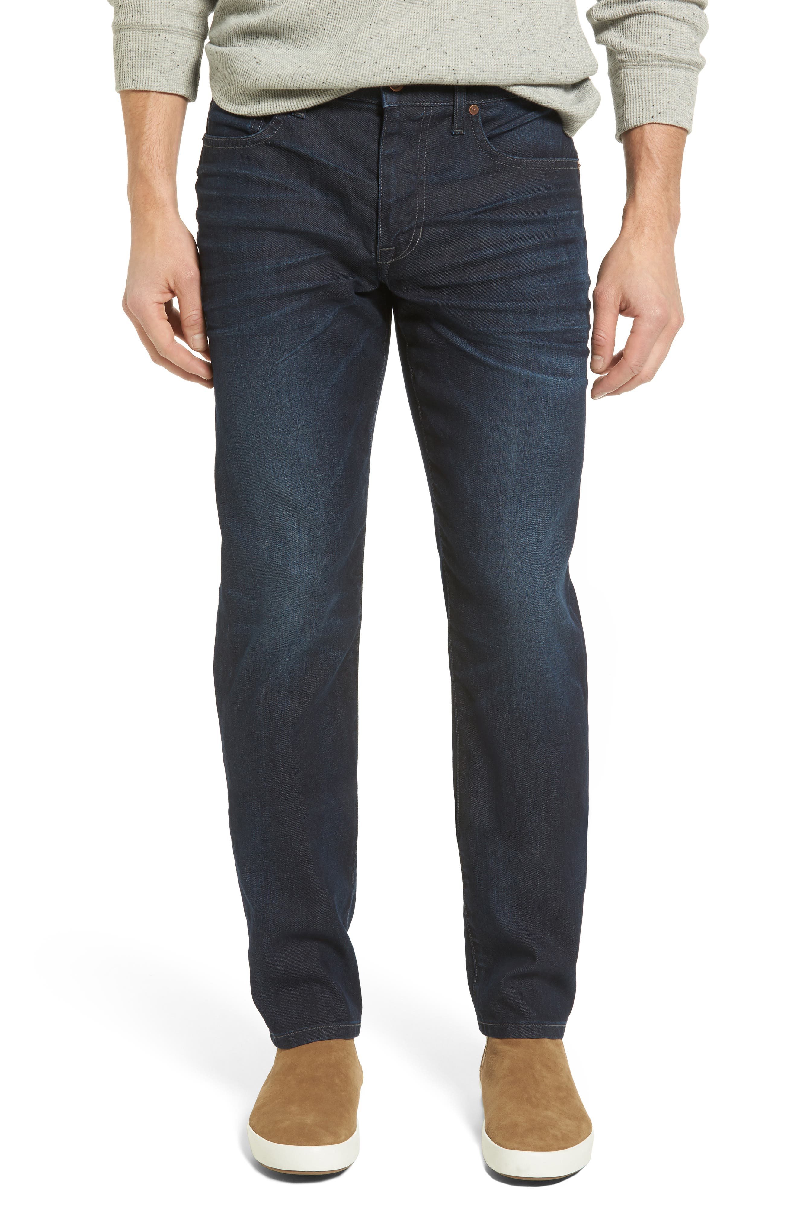 Brixton Slim Straight Leg Jeans,                         Main,                         color, 430