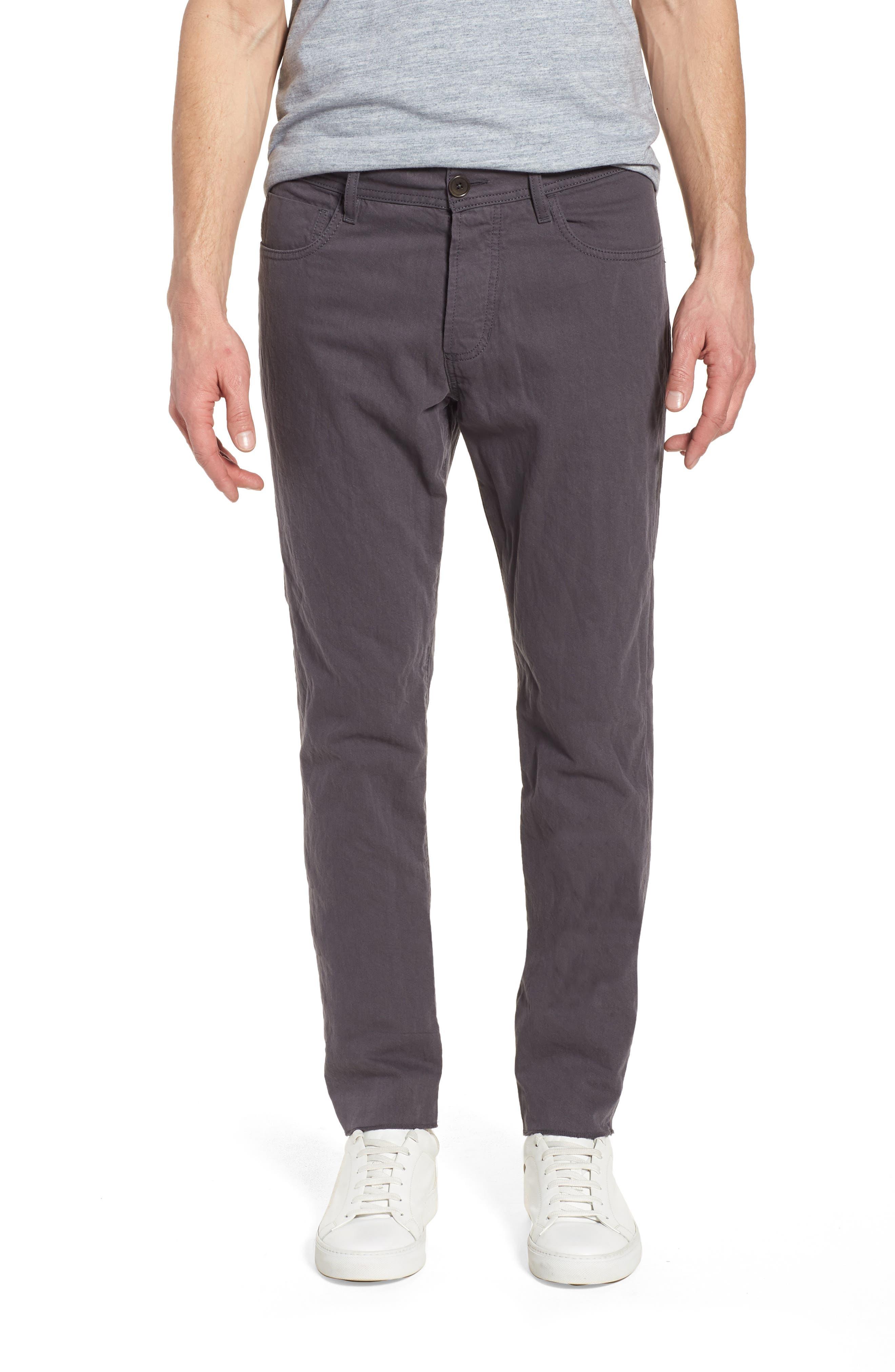 Slim Fit Twill Pants,                         Main,                         color, 037