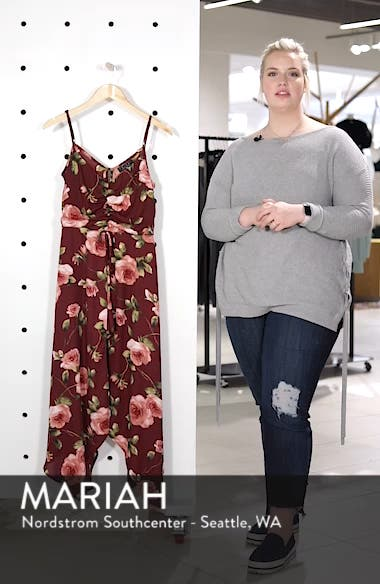 Floral Midi Romper, sales video thumbnail