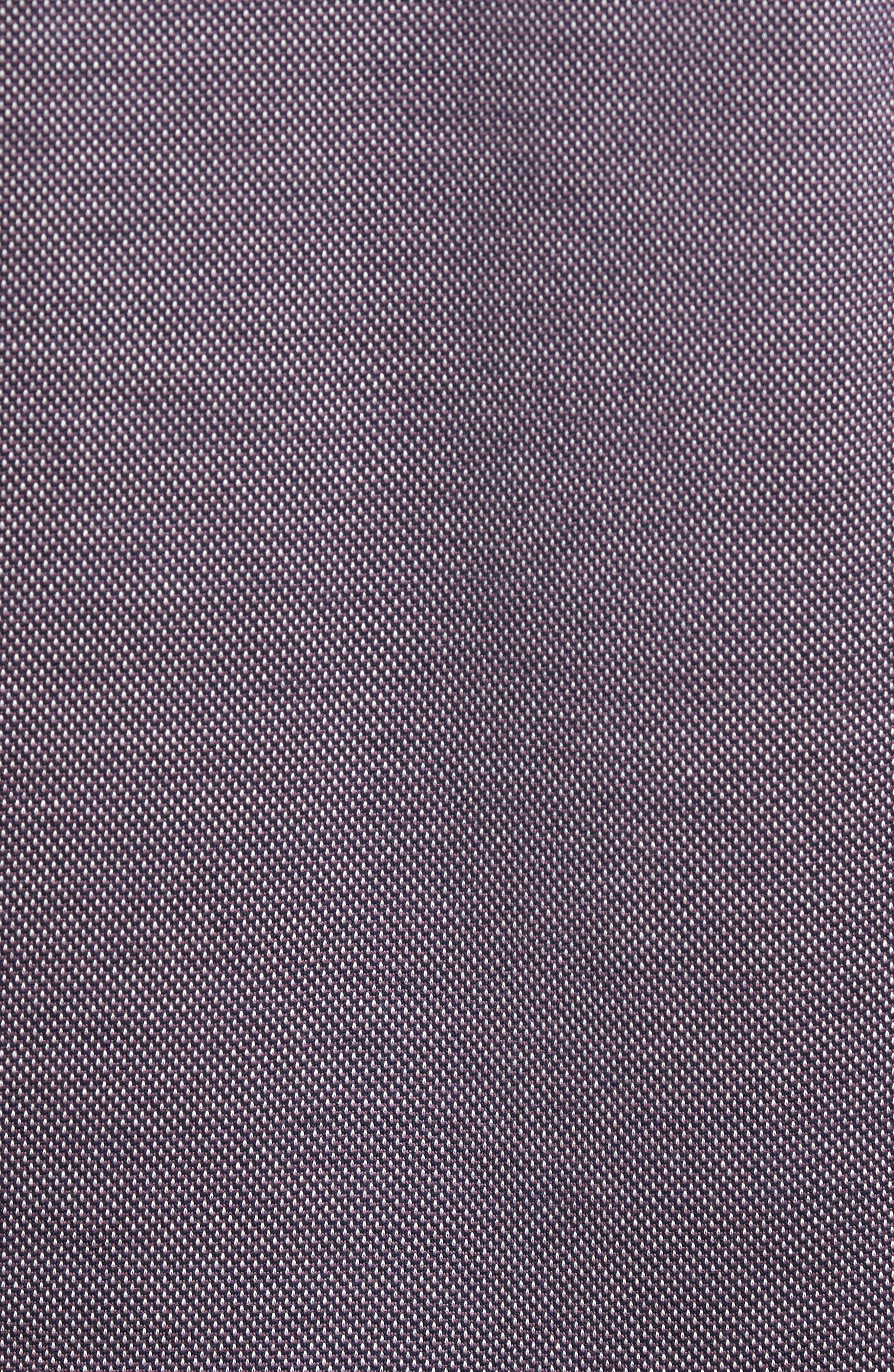 Verde Jacquard Mercerized Cotton Polo,                             Alternate thumbnail 14, color,