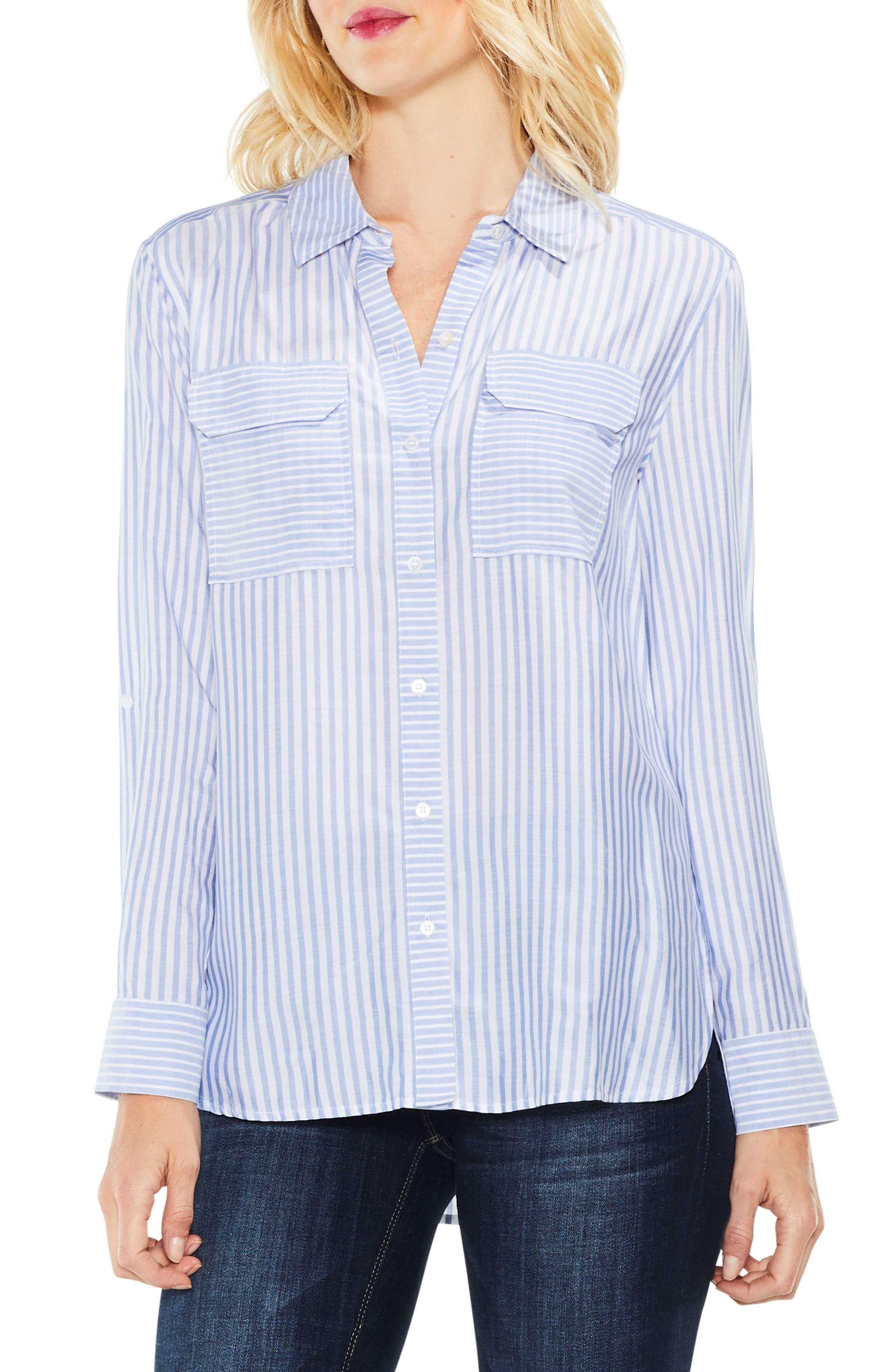 Roll Tab Two-Pocket Shirt,                         Main,                         color, 405