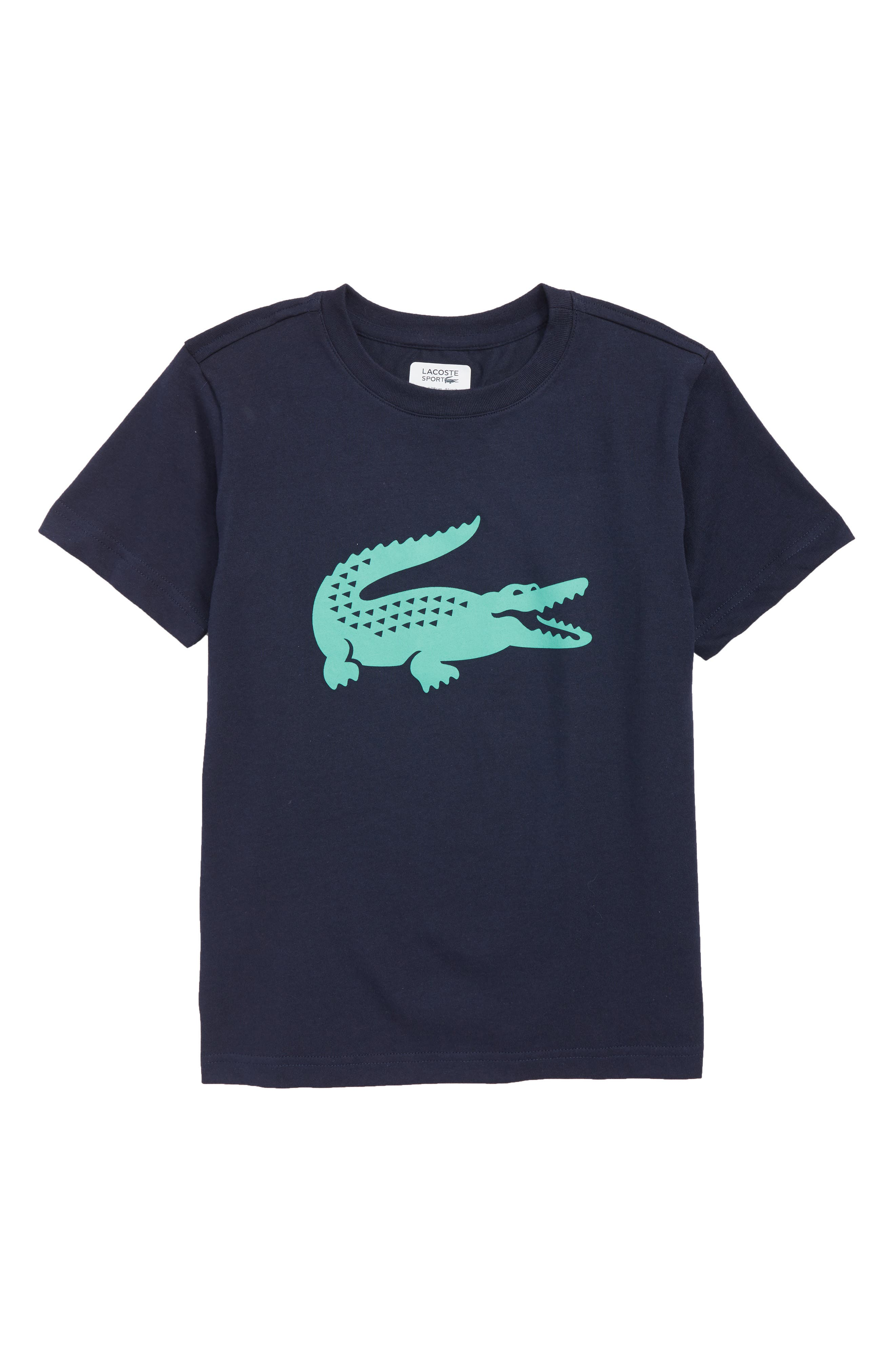 Croc Graphic T-Shirt,                         Main,                         color, NAVY