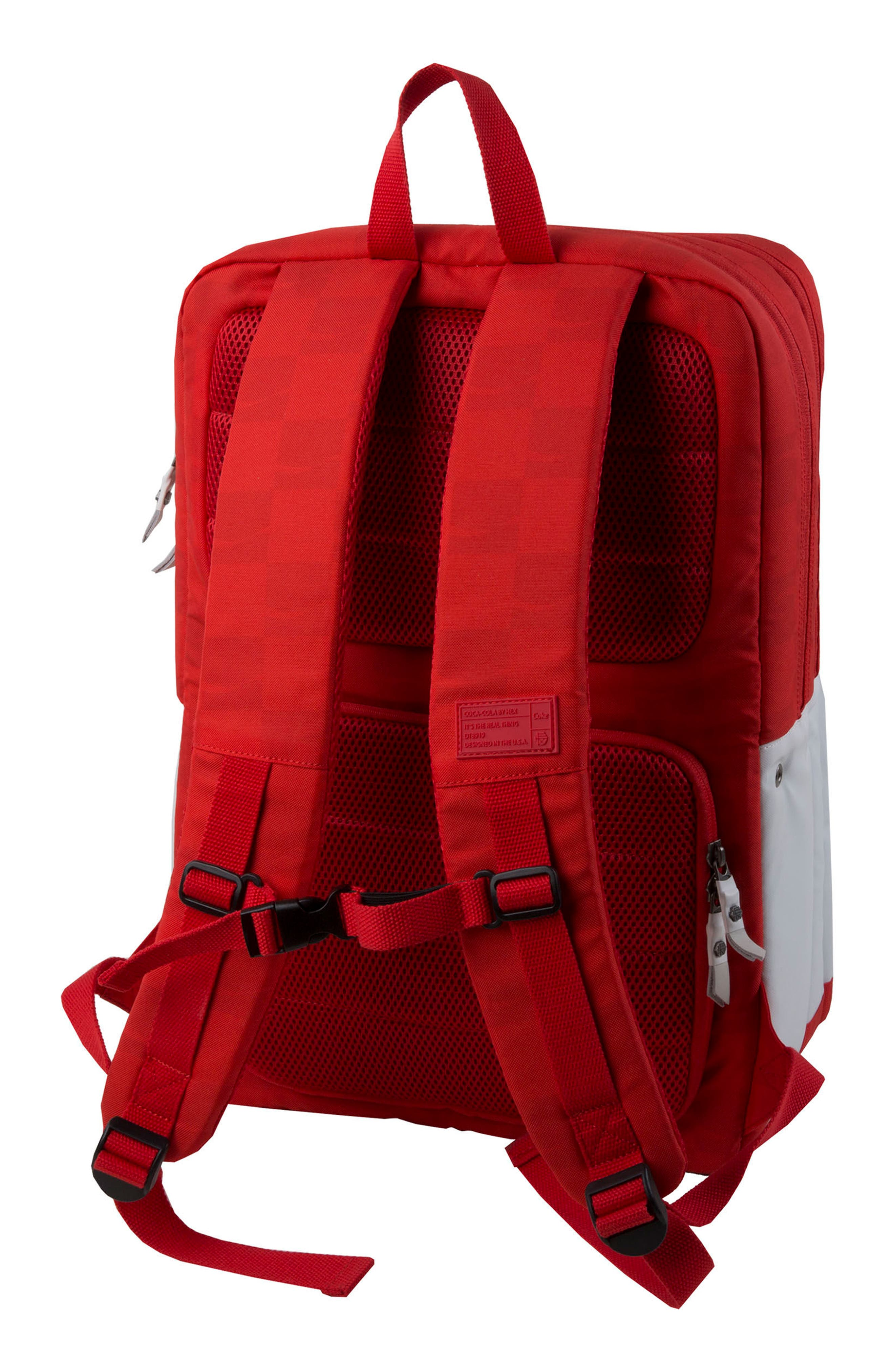 Coca Cola Sneaker Backpack,                             Alternate thumbnail 2, color,