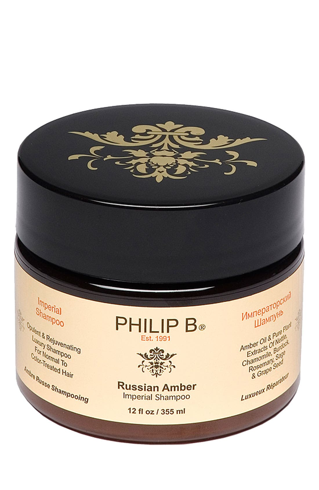 SPACE.NK.apothecary PHILIP B<sup>®</sup> Russian Amber Imperial<sup>™</sup> Shampoo,                         Main,                         color, 000