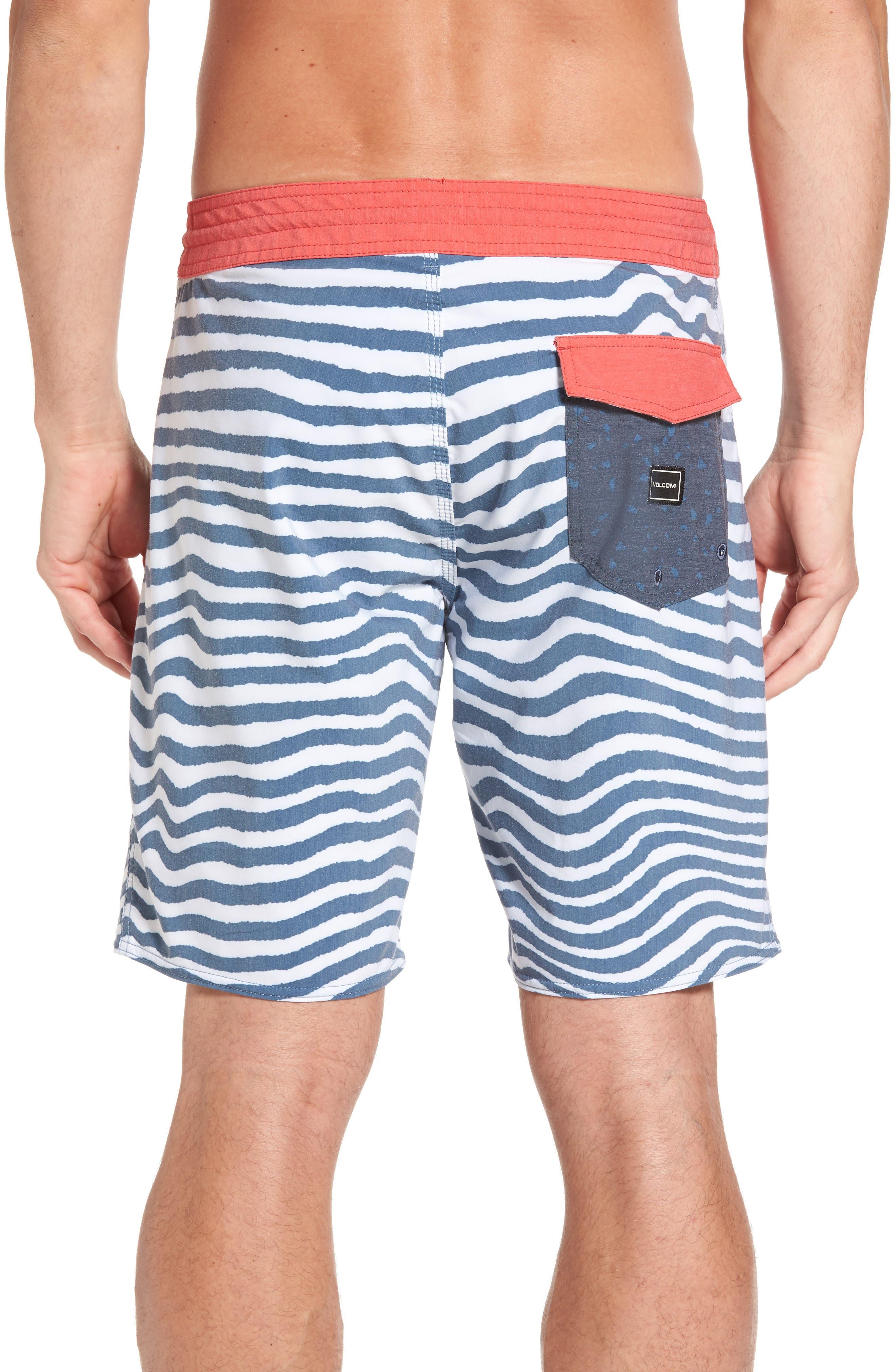 Stripey Slinger Board Shorts,                             Alternate thumbnail 13, color,
