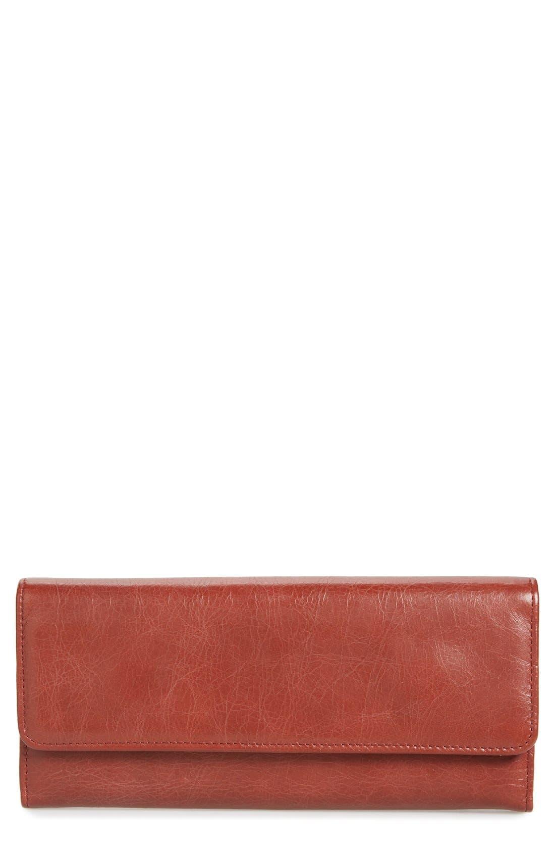 'Sadie' Leather Wallet,                             Main thumbnail 25, color,