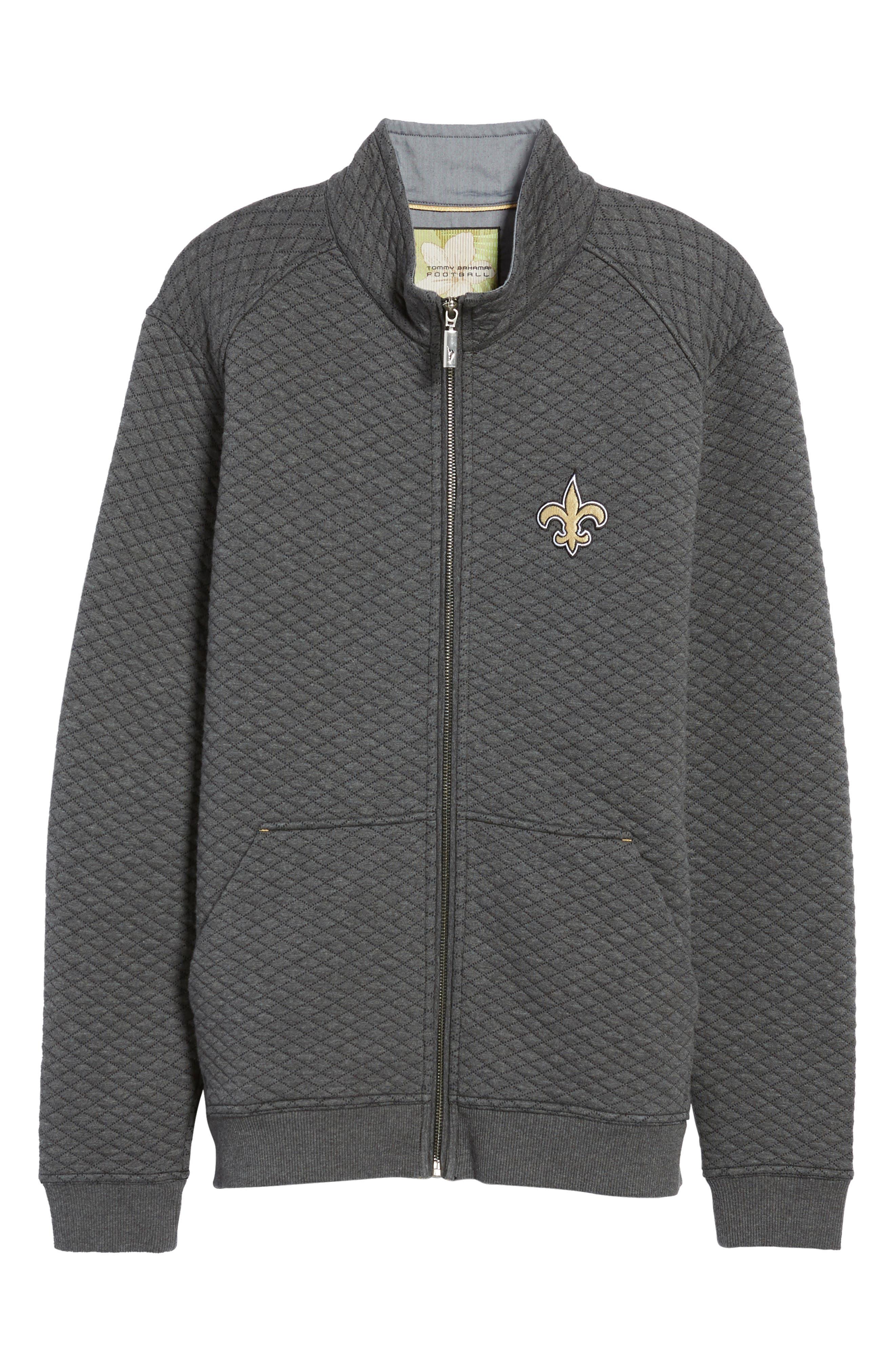 NFL Quiltessential Full Zip Sweatshirt,                             Alternate thumbnail 181, color,