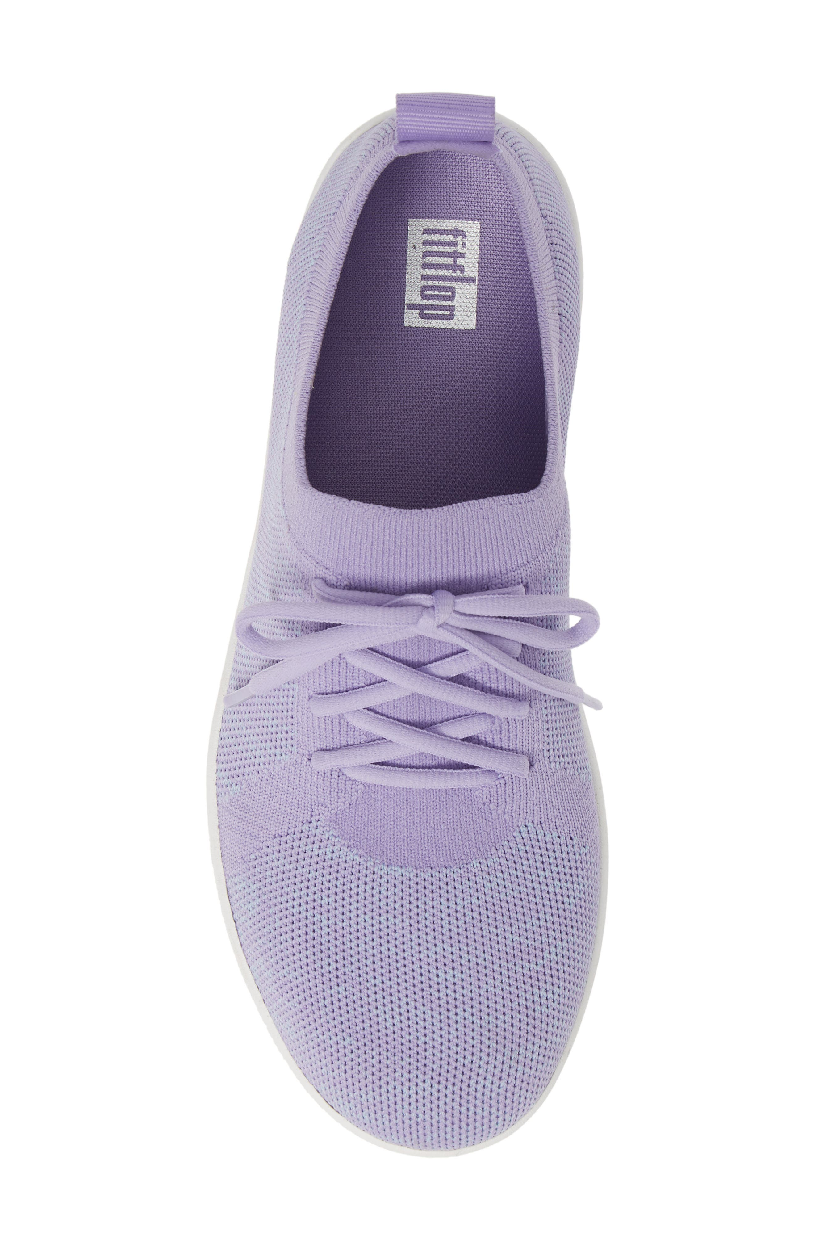 F-Sporty Uberknit<sup>™</sup> Sneaker,                             Alternate thumbnail 5, color,                             FROSTED LAVENDER MIX