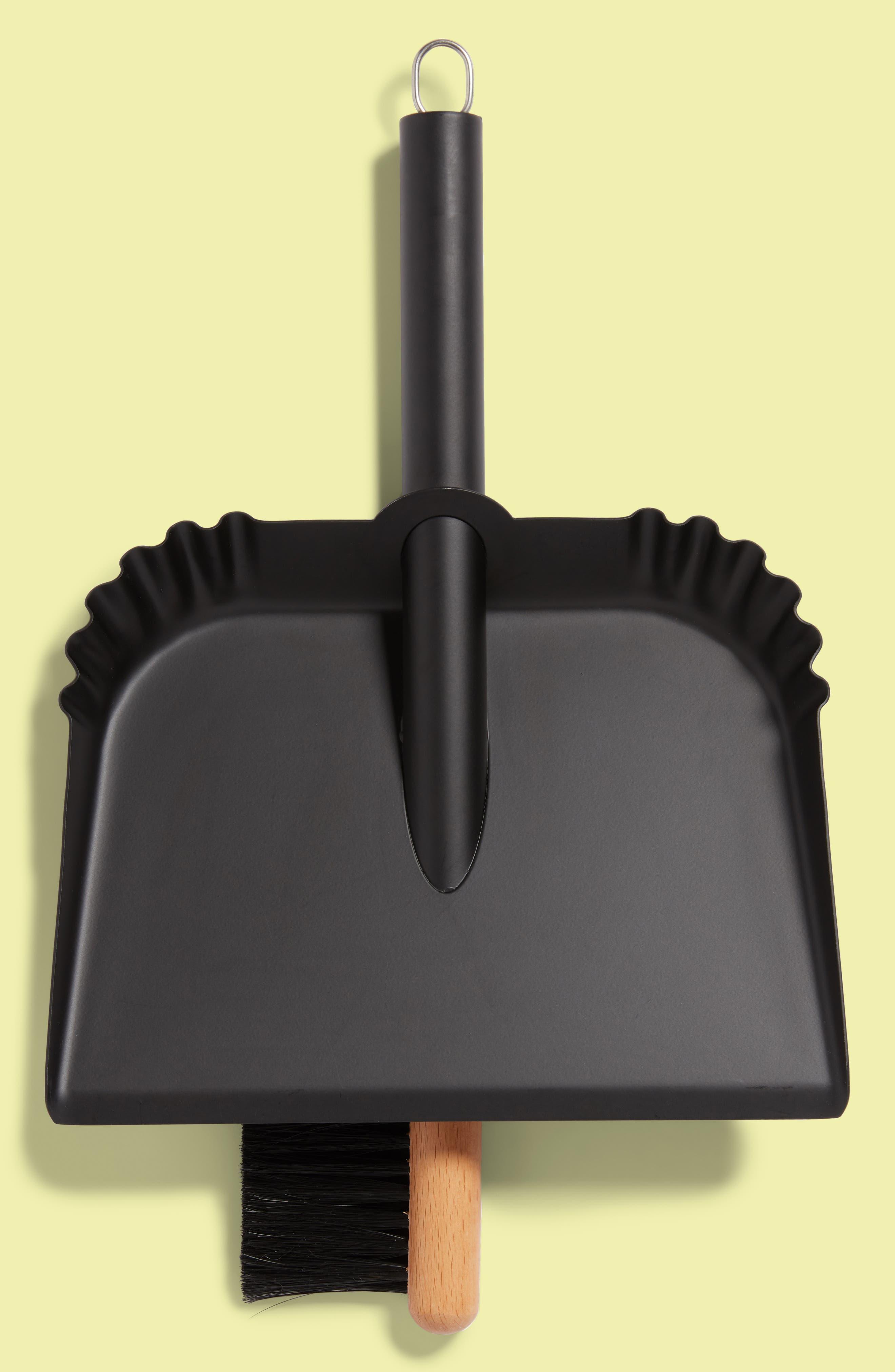 Richman Dustpan & Brush Set,                         Main,                         color, 001