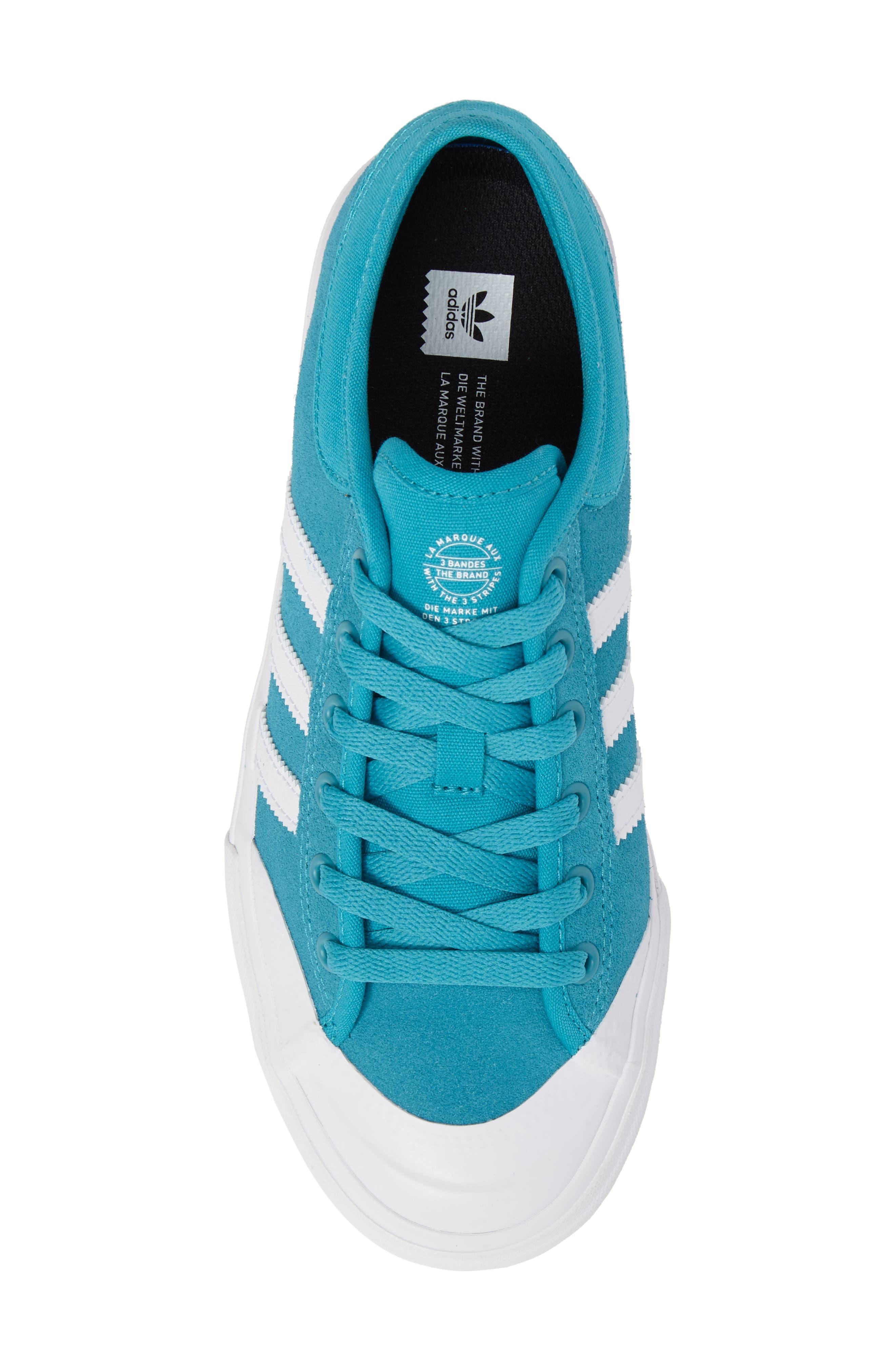 ADIDAS,                             Matchcourt Mid High Sneaker,                             Alternate thumbnail 5, color,                             400