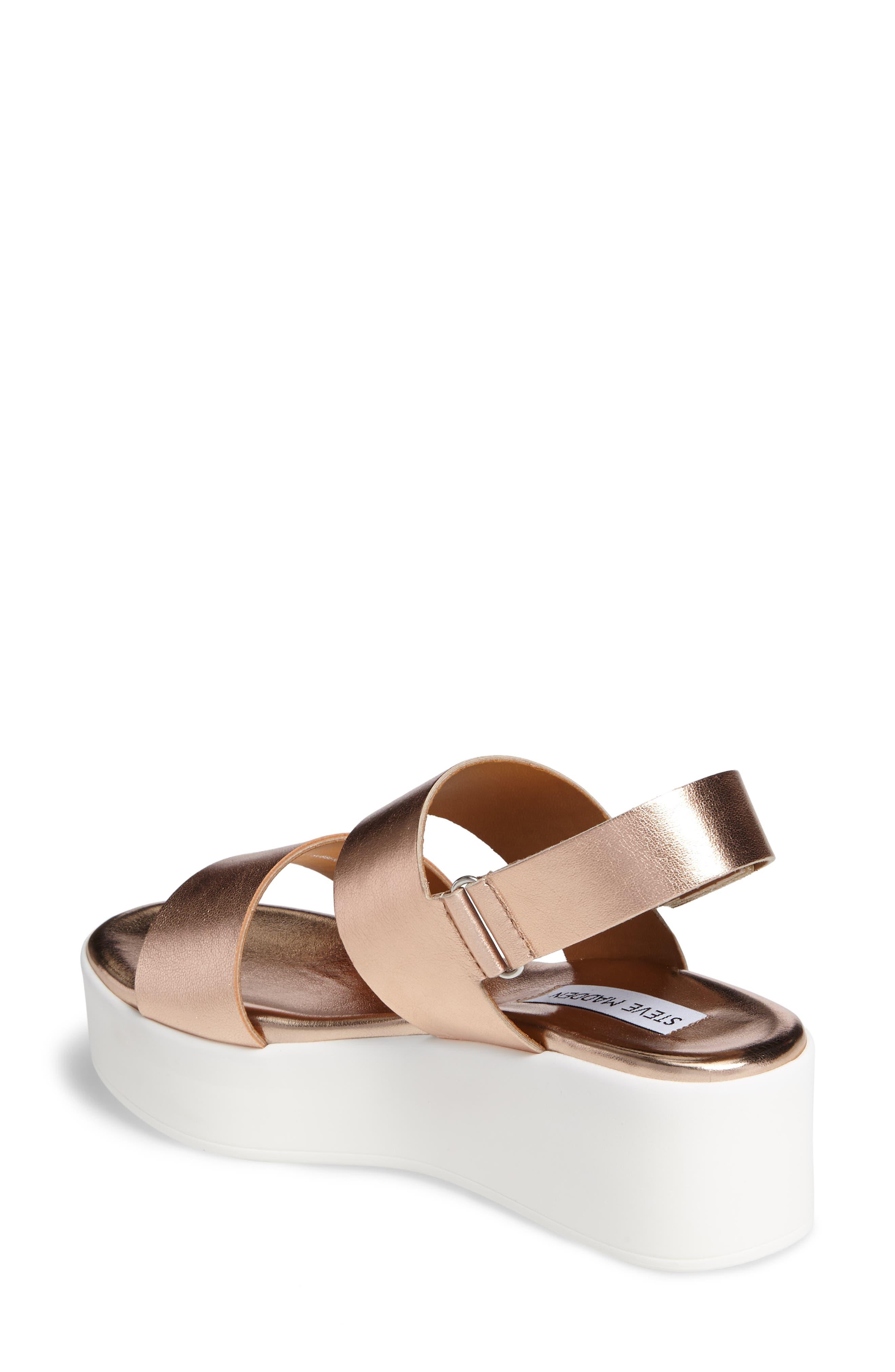 Rachel Platform Wedge Sandal,                             Alternate thumbnail 10, color,
