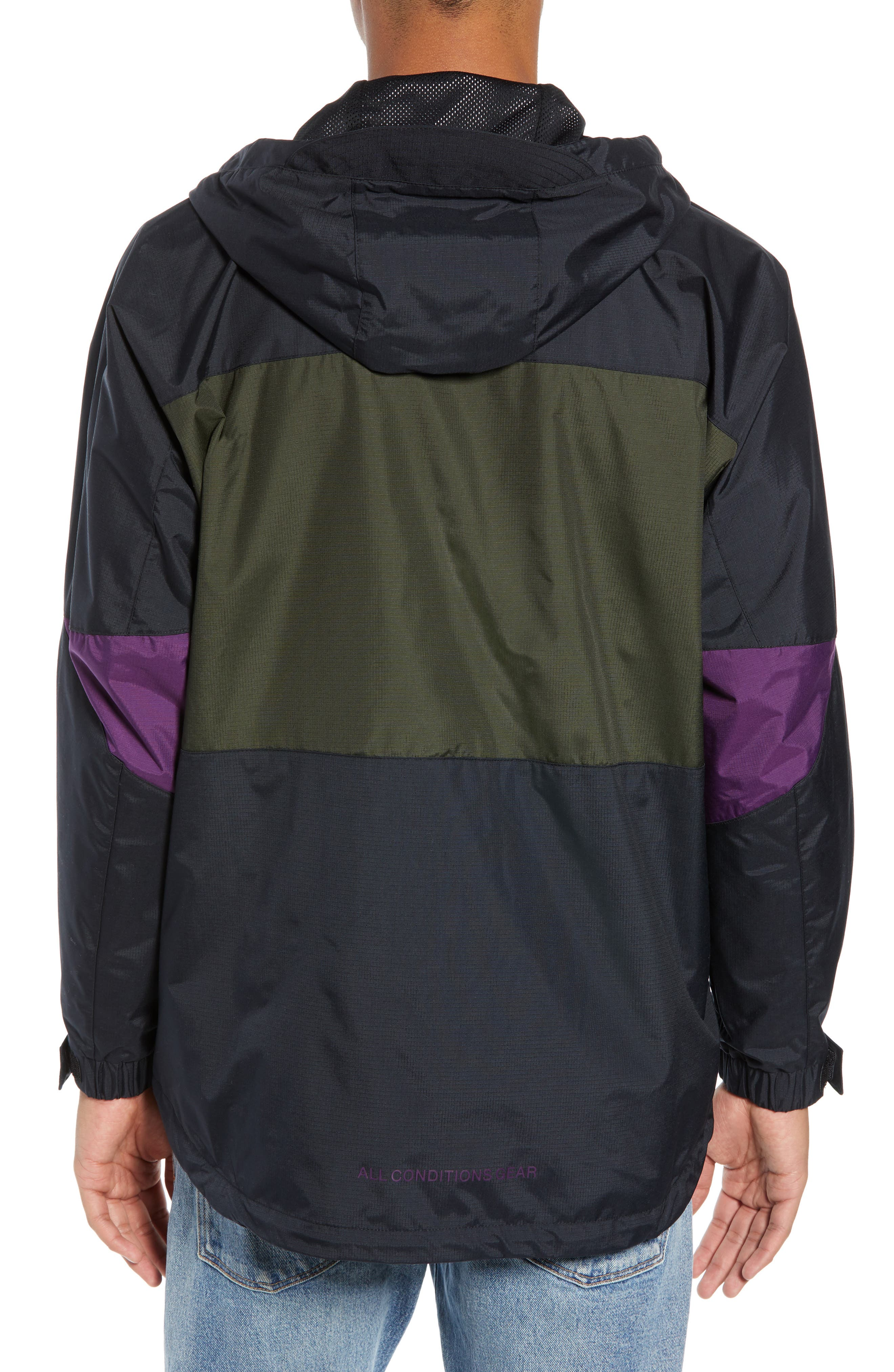 ACG Men's Anorak Jacket,                             Alternate thumbnail 2, color,                             BLACK/ SEQUOIA/ BLACK
