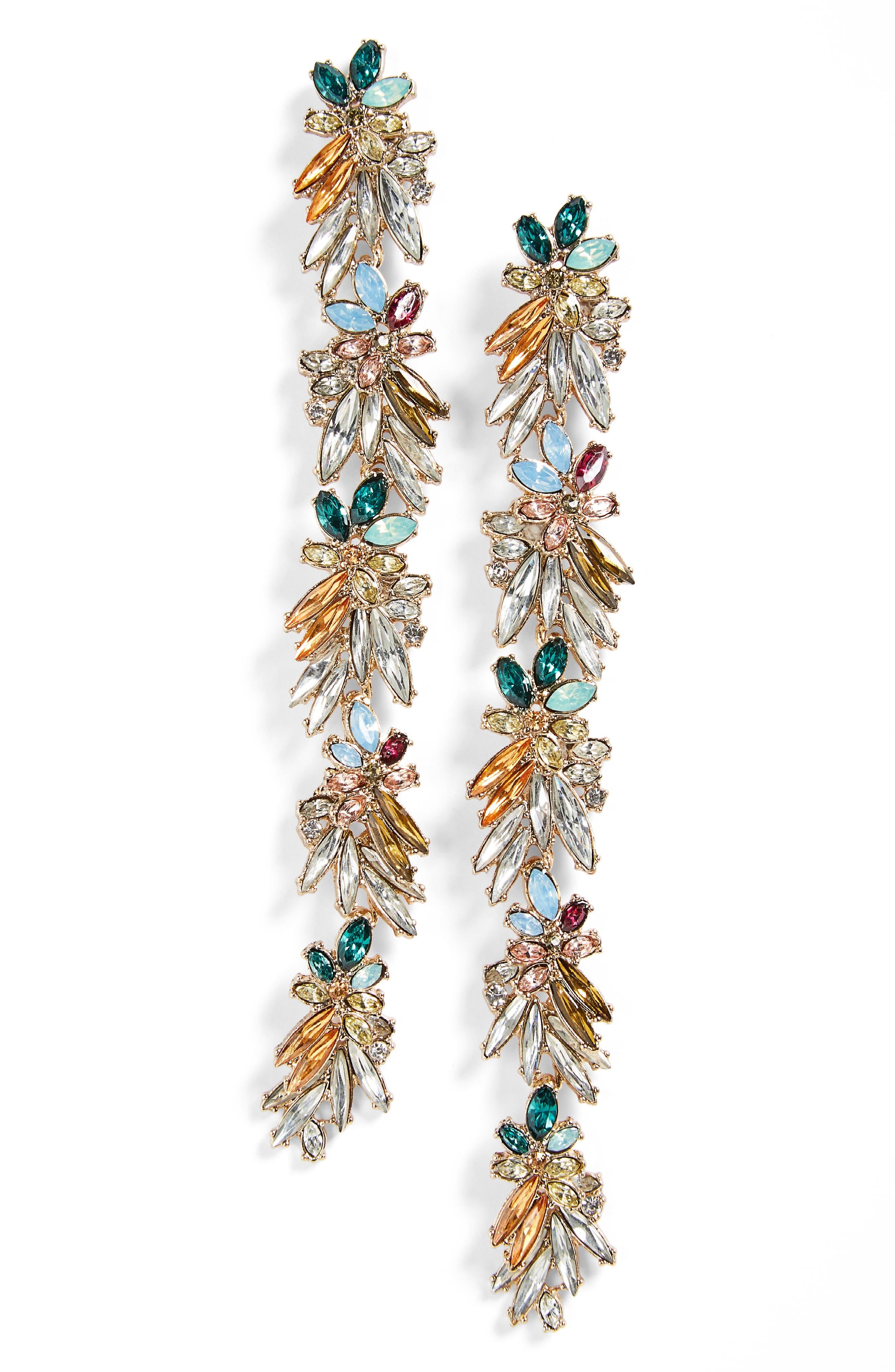 Shoulder Duster Earrings, Main, color, 400