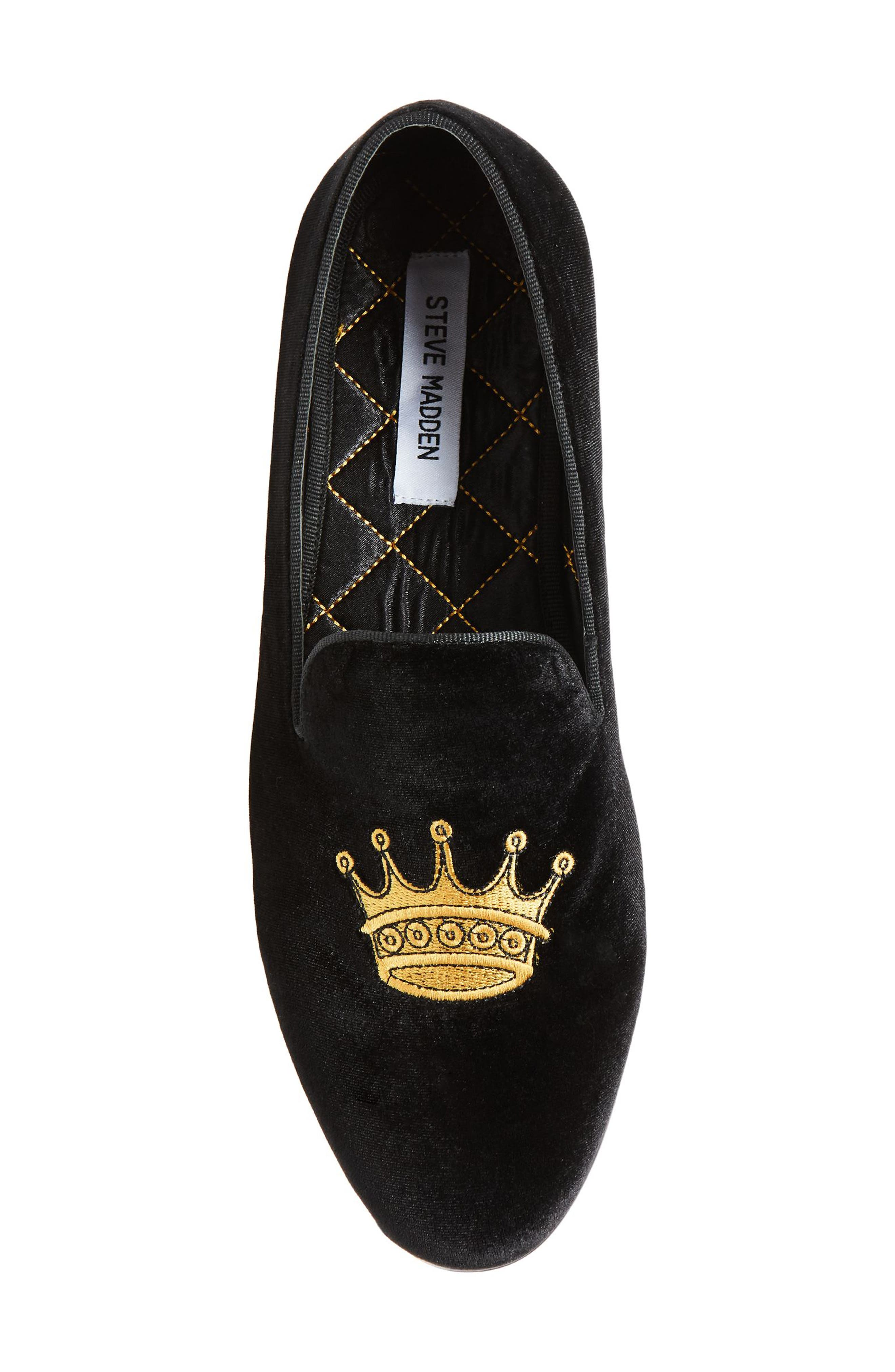 Crowne Loafer,                             Alternate thumbnail 5, color,                             001