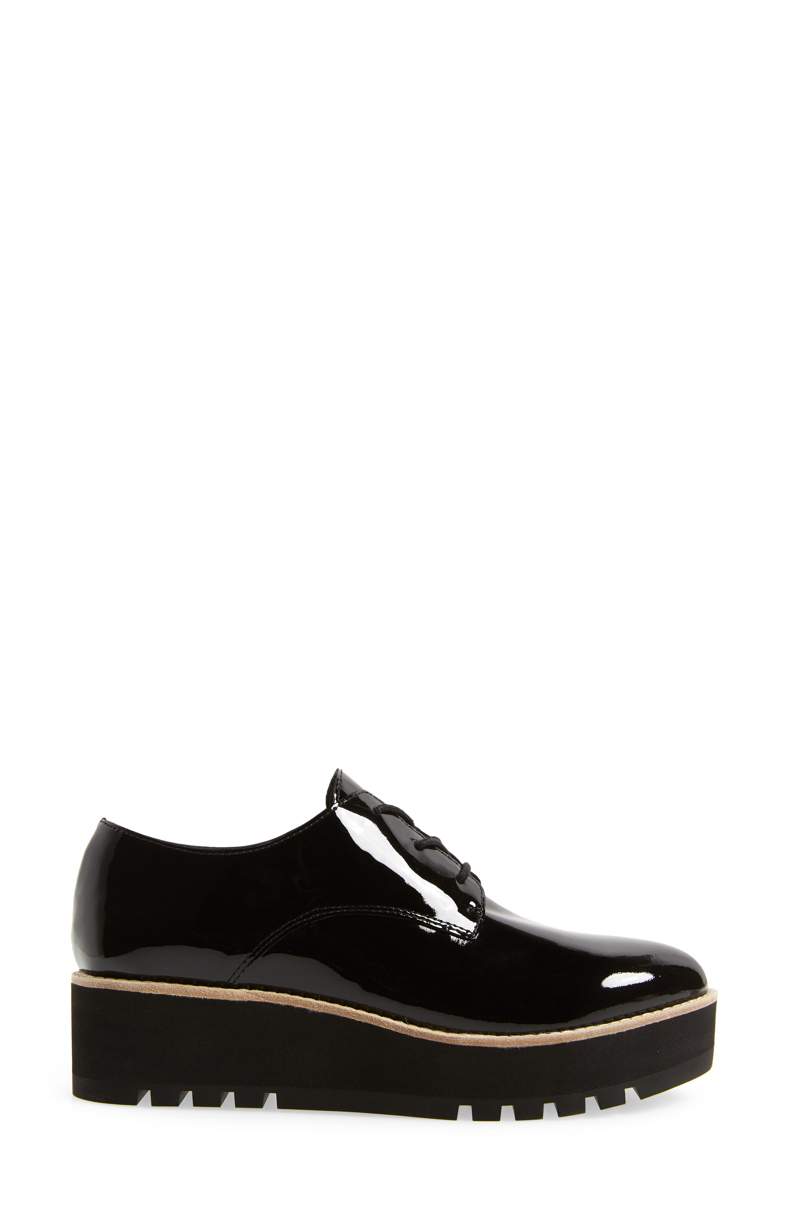 Eddy Derby,                             Alternate thumbnail 3, color,                             BLACK PATENT LEATHER