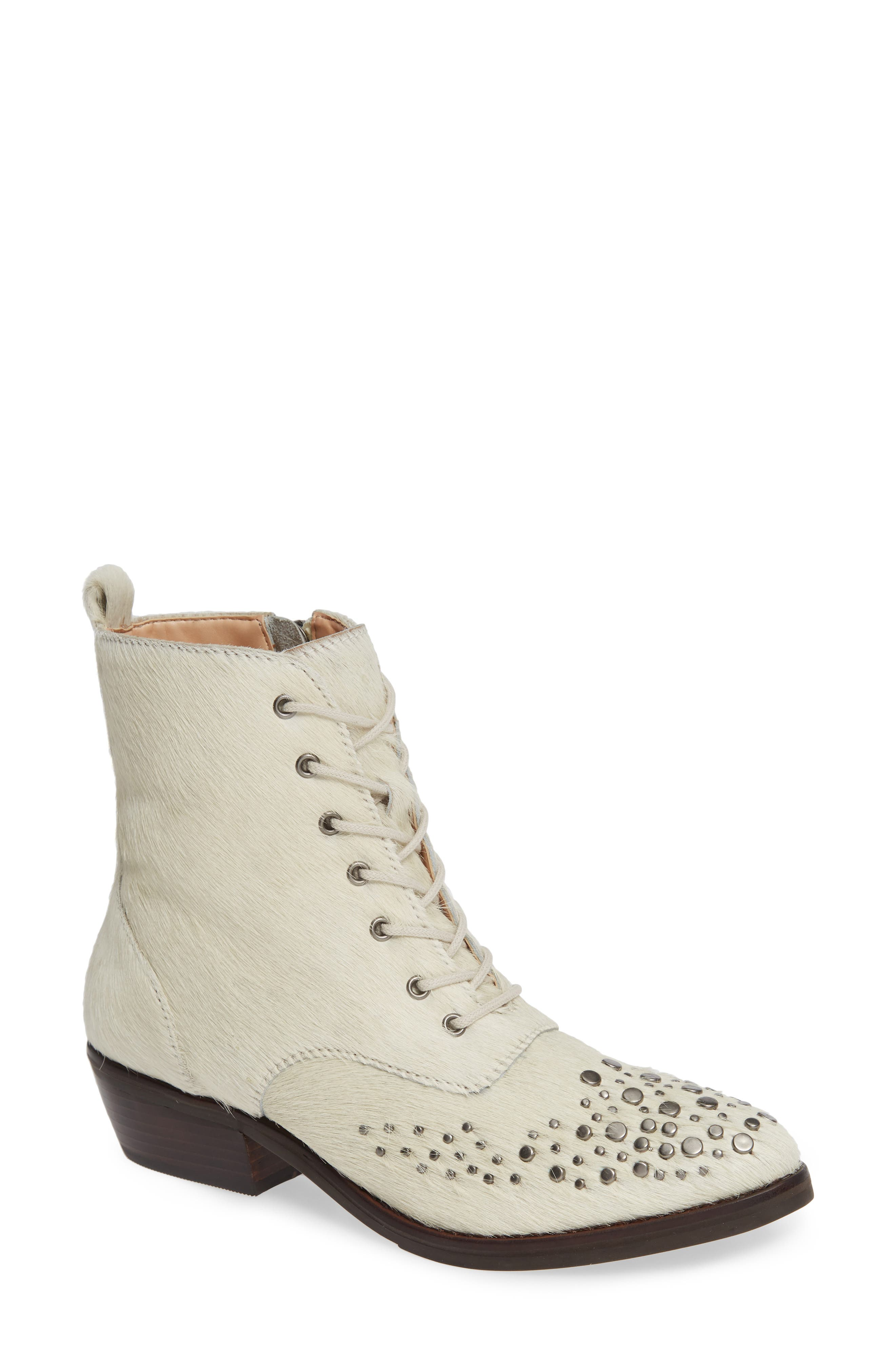 LUST FOR LIFE Portland Boot in White Leather