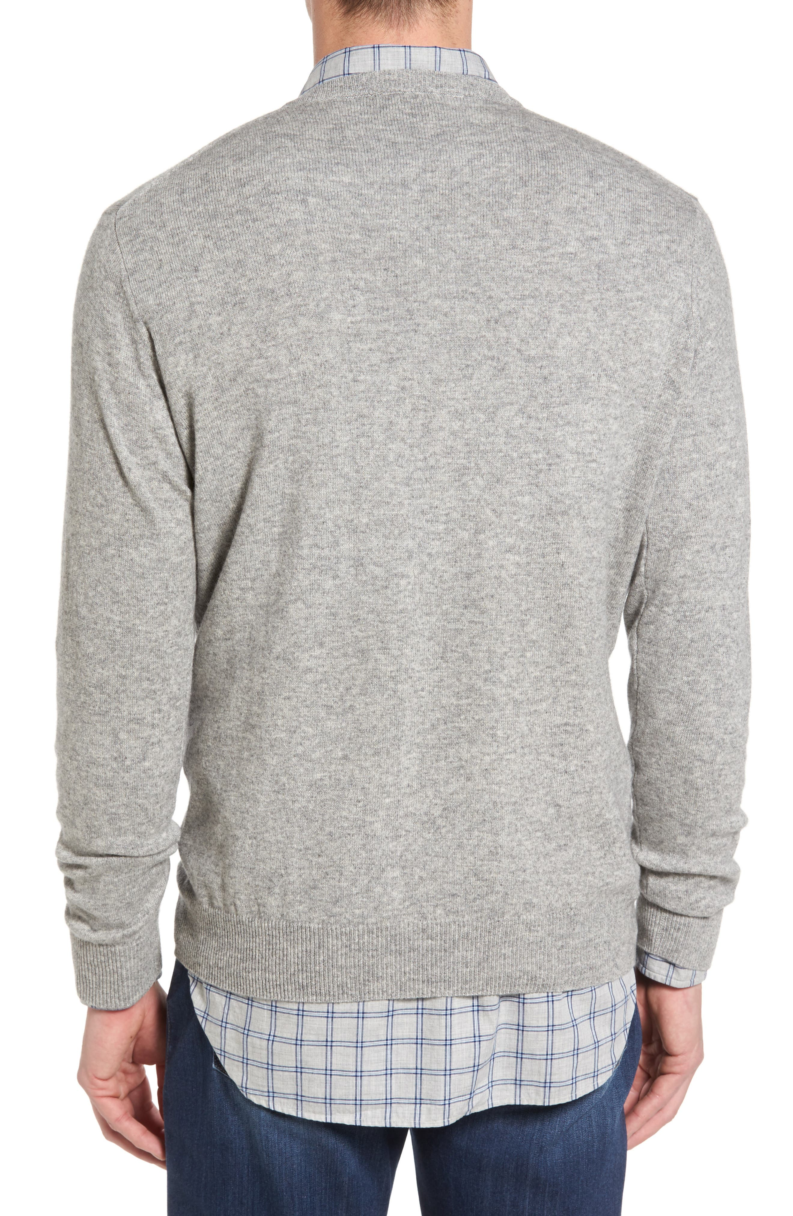 'Inchbonnie' Wool & Cashmere V-Neck Sweater,                             Alternate thumbnail 2, color,                             020