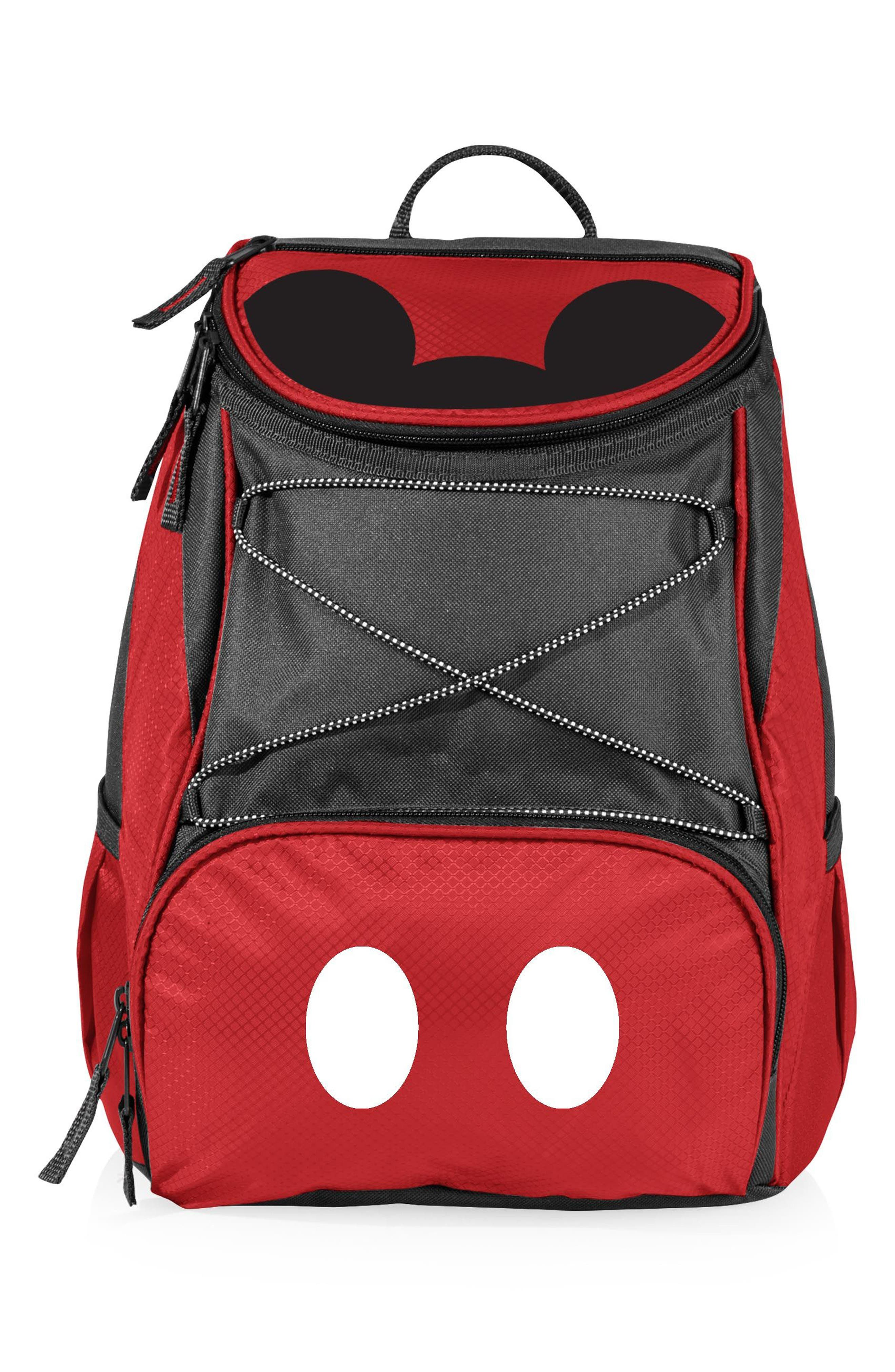 PTX - Disney Water Resistant Backpack Cooler,                             Main thumbnail 1, color,                             RED