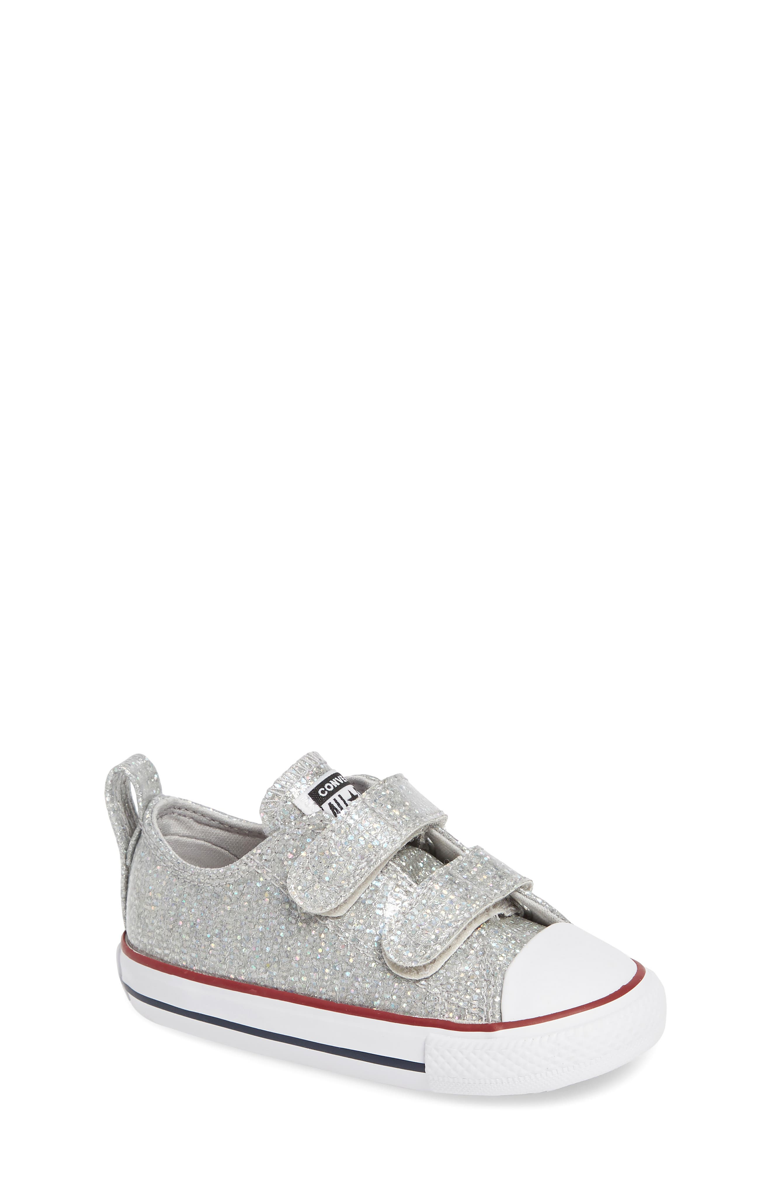 All Star<sup>®</sup> Seasonal Glitter Sneaker,                             Main thumbnail 1, color,                             050