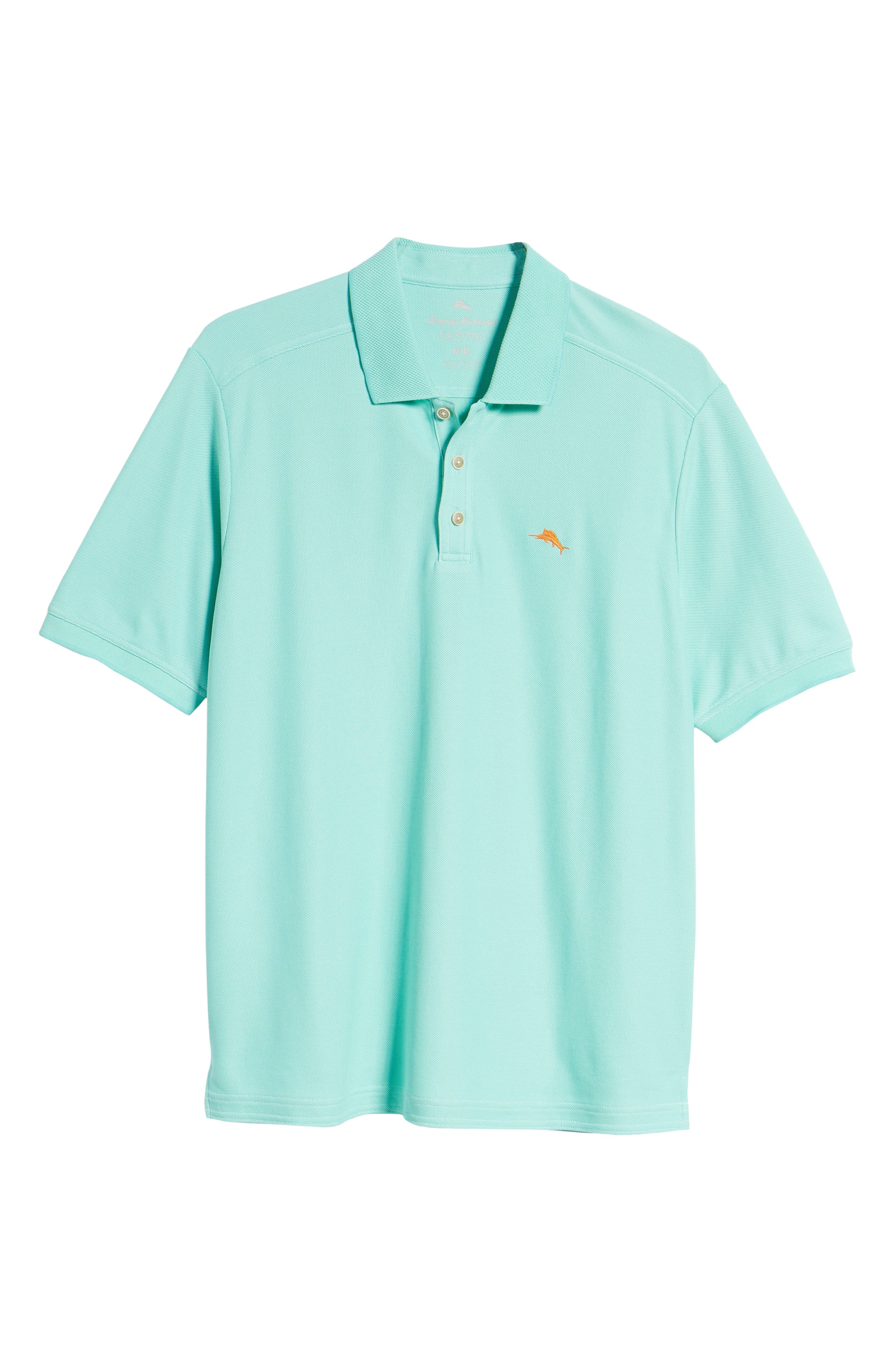 The Emfielder Piqué Polo,                             Alternate thumbnail 6, color,                             MINT MOJITO