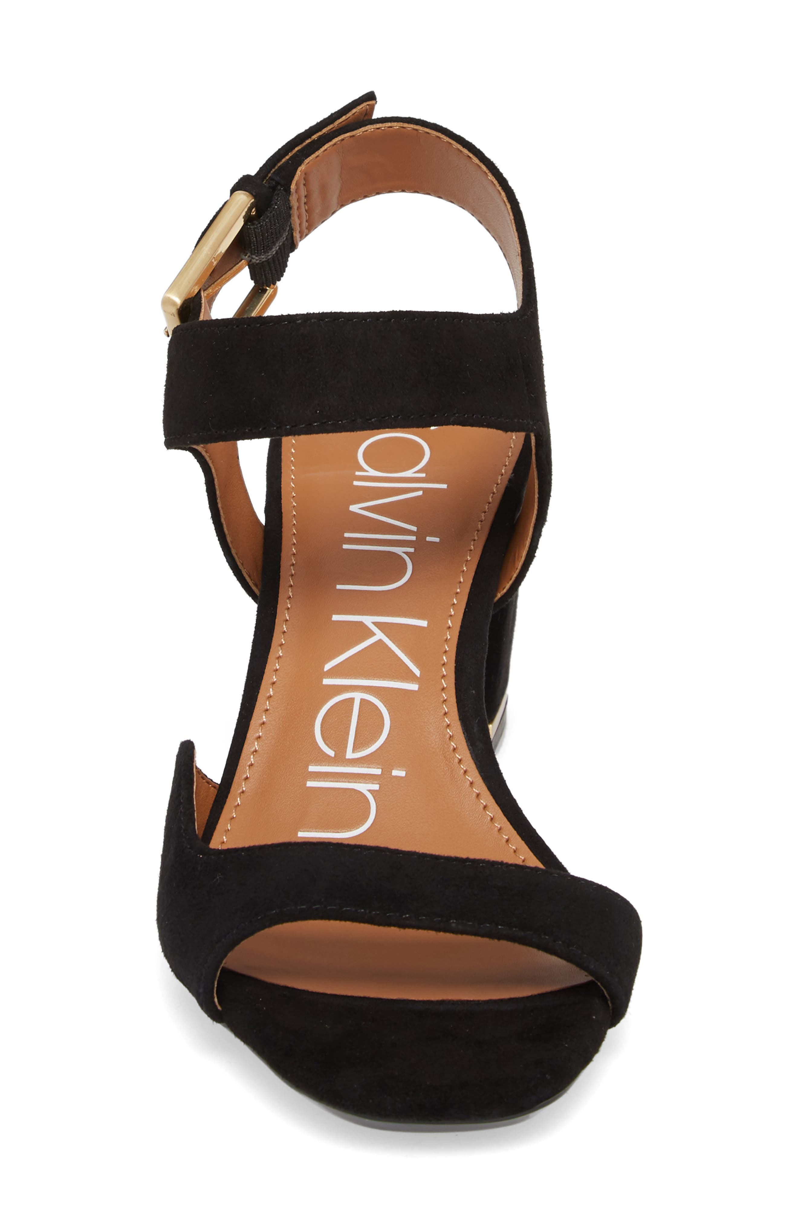 Chantay Asymmetrical Sandal,                             Alternate thumbnail 4, color,                             001