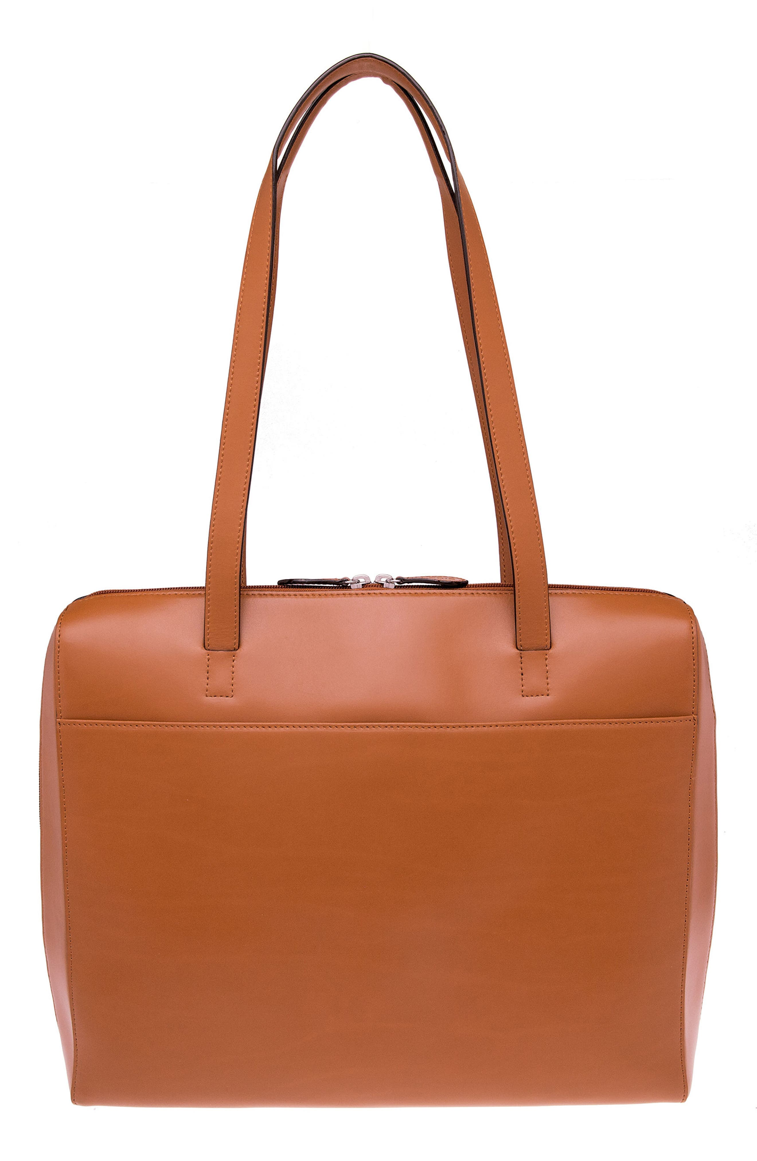 Audrey Under Lock & Key Organizer Tote,                             Main thumbnail 1, color,                             TOFFEE