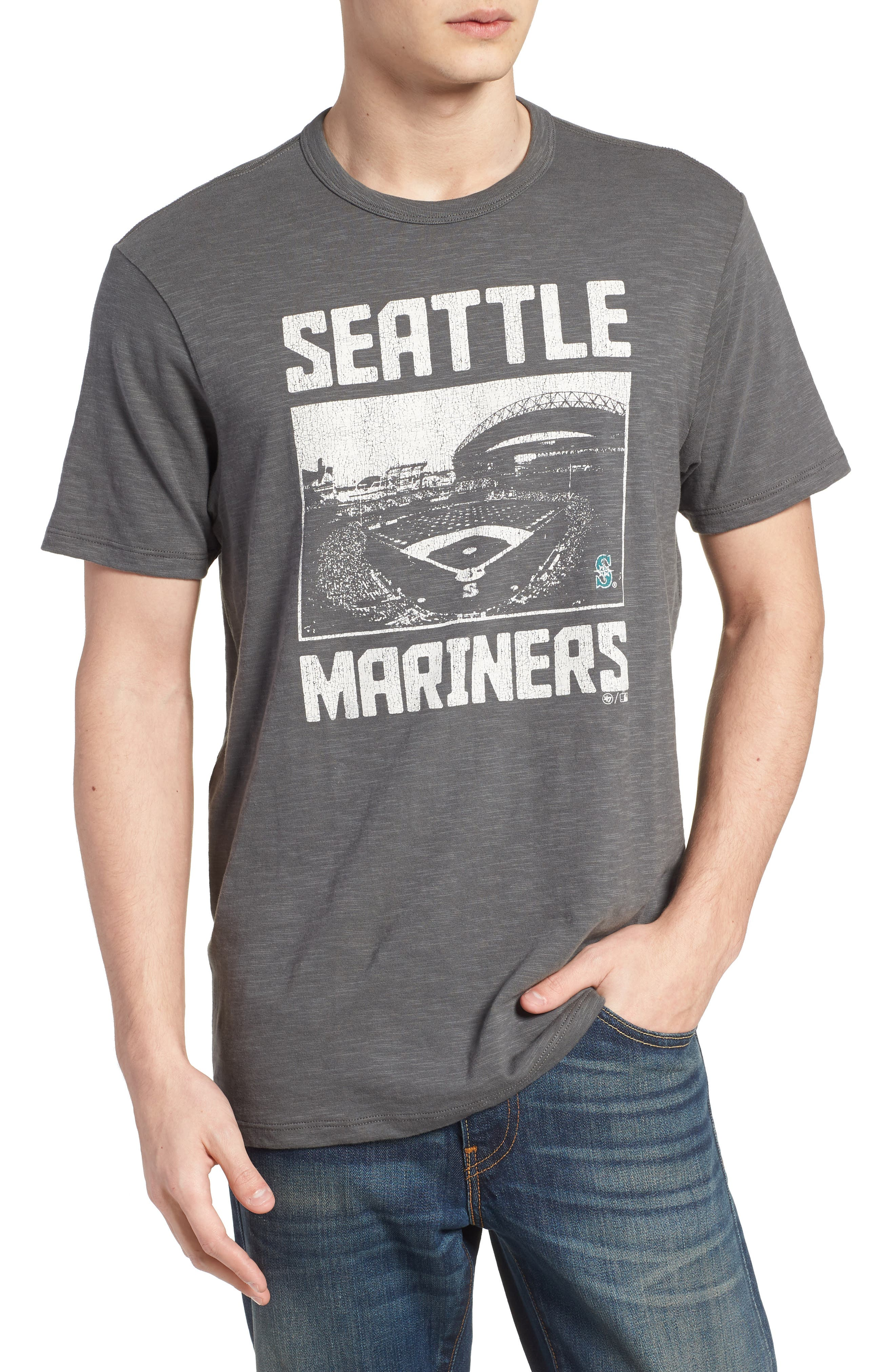 MLB Overdrive Scrum Seattle Mariners T-Shirt,                         Main,                         color, 020