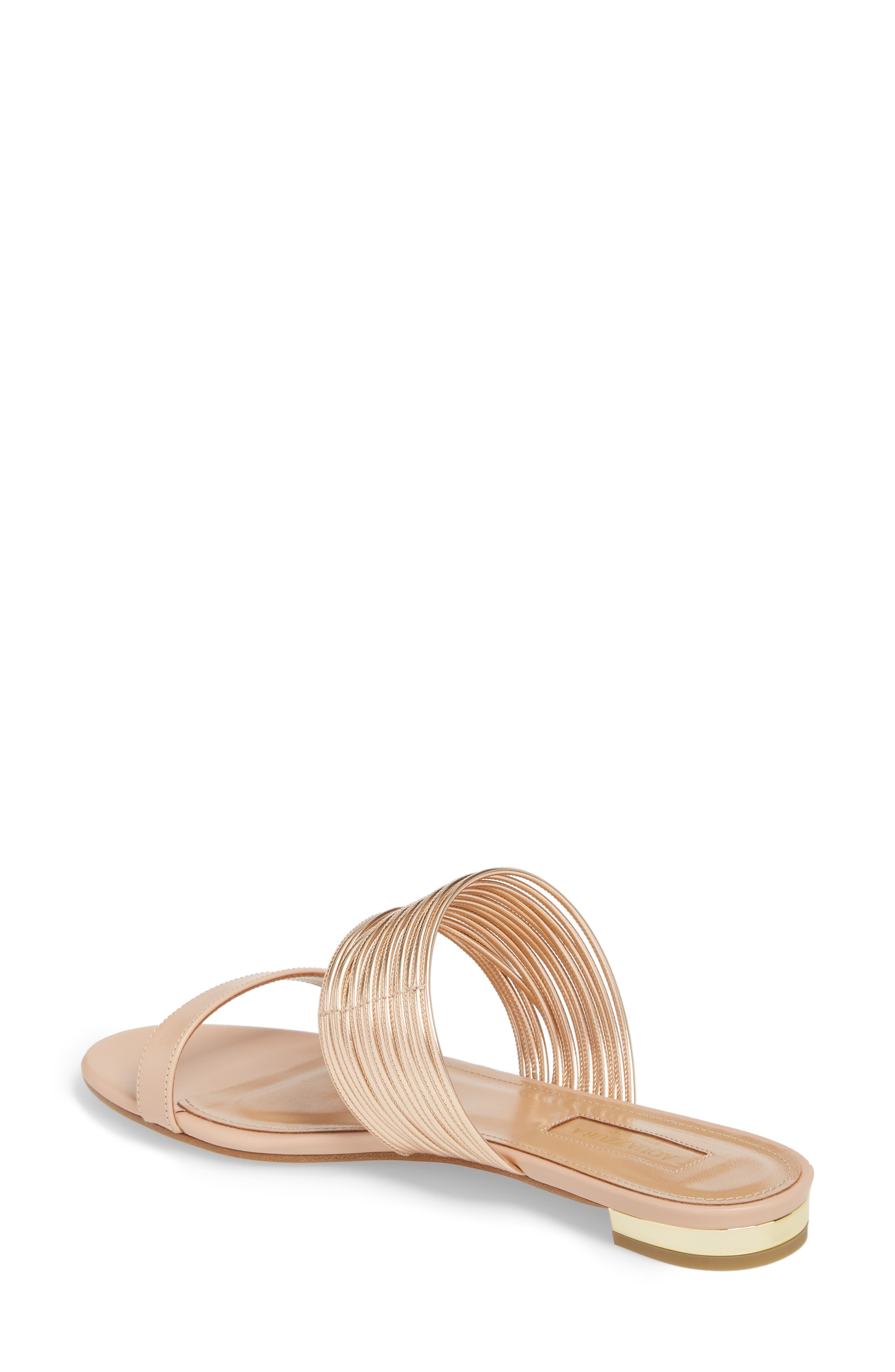 Rendezvous Metallic Sandal,                             Alternate thumbnail 2, color,                             POWDER PINK/CIPRIA