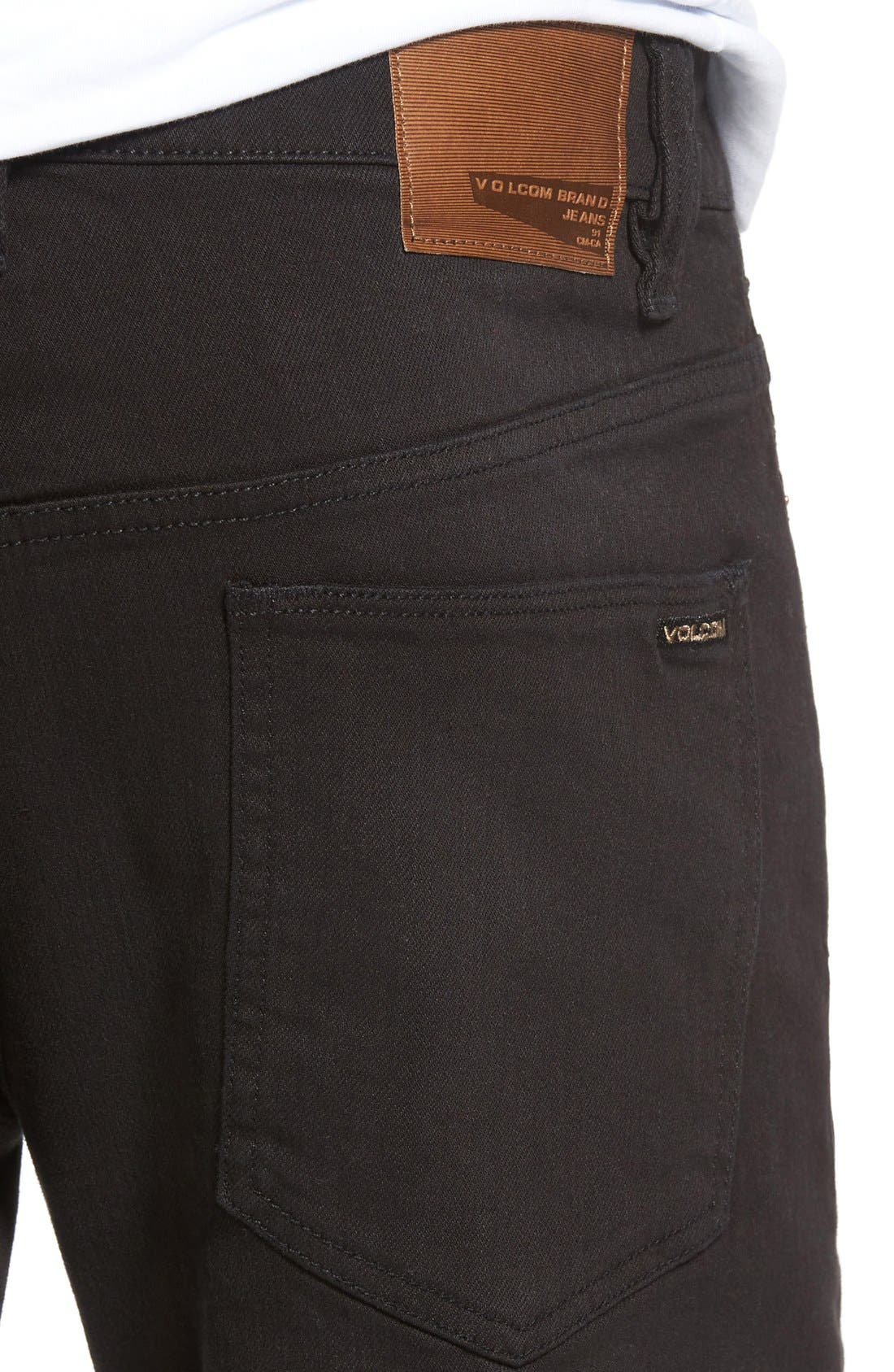 'Solver' Tapered Jeans,                             Alternate thumbnail 6, color,