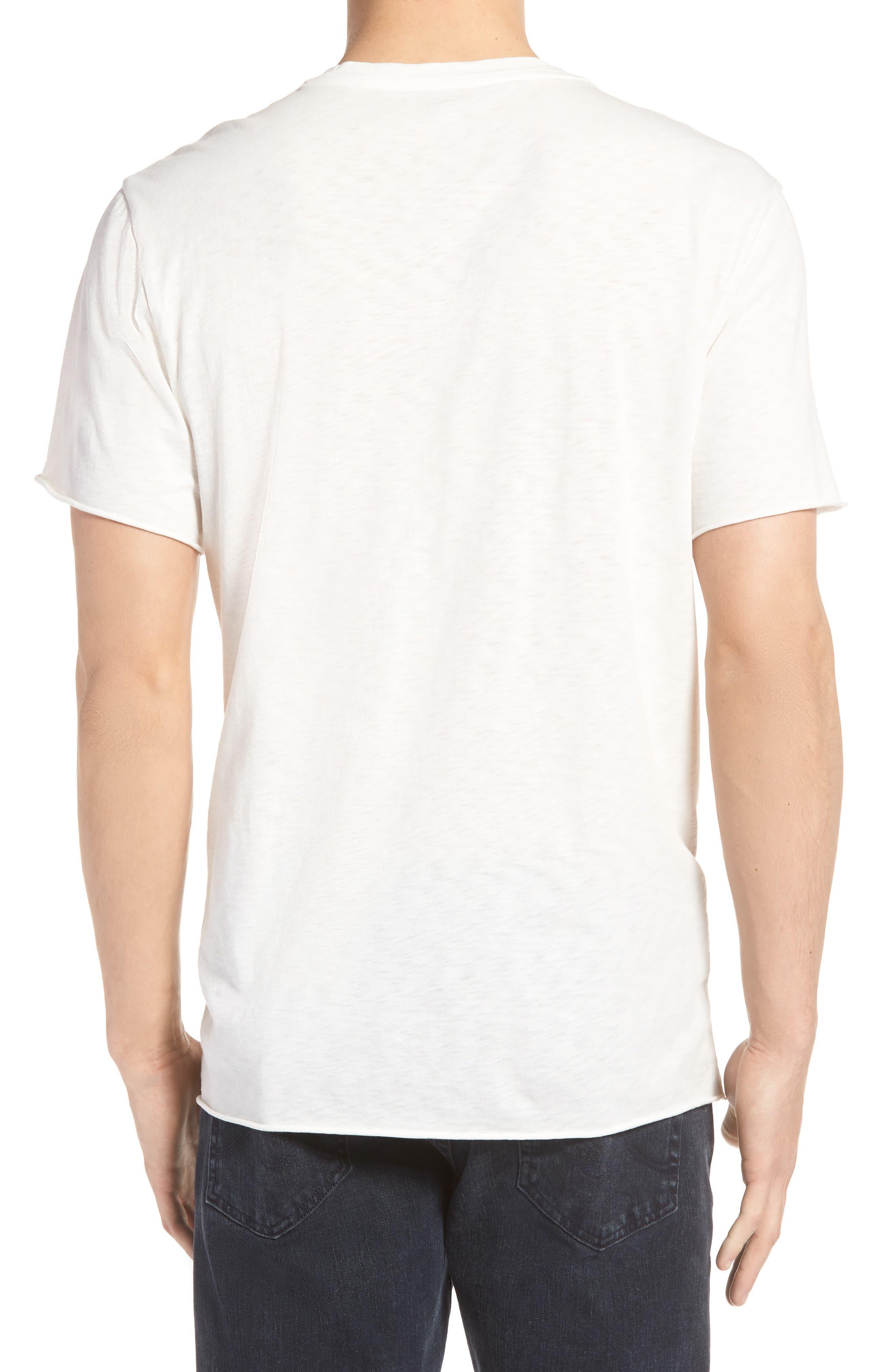 TREASURE & BOND,                             Rush Trim Fit T-Shirt,                             Alternate thumbnail 2, color,                             900
