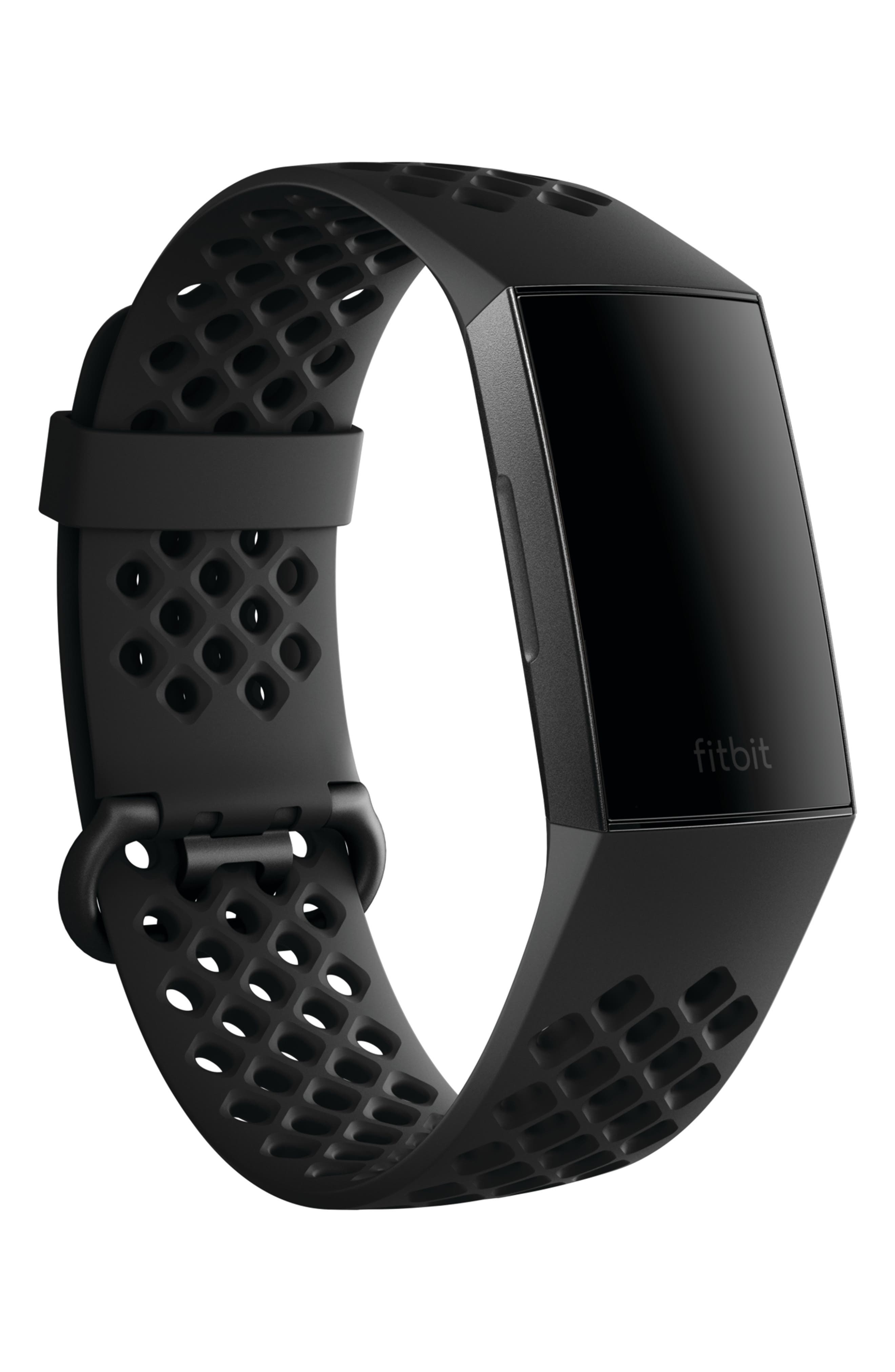 Charge 3 Wireless Activity & Heart Rate Tracker,                             Alternate thumbnail 2, color,                             BLACK