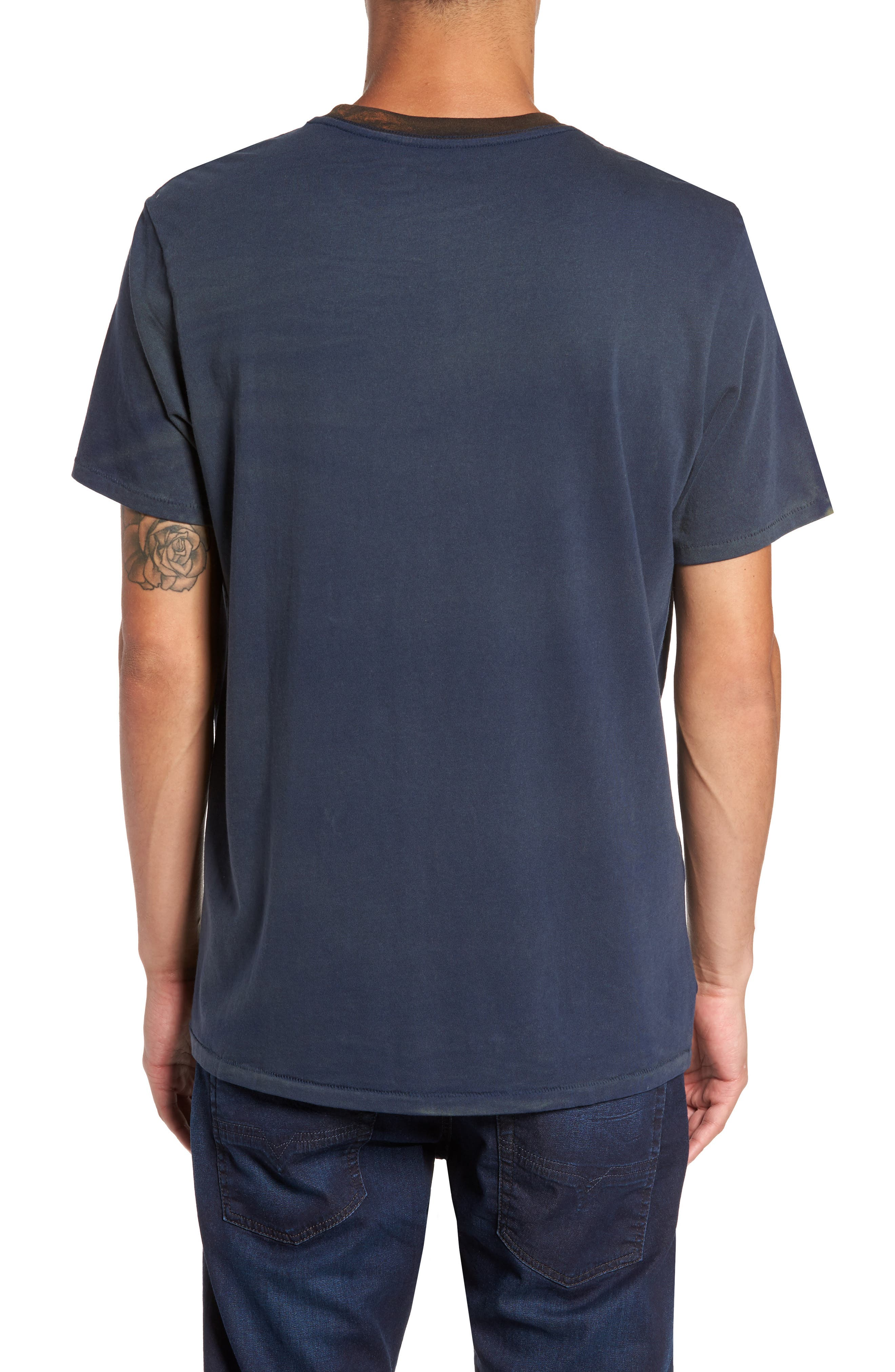 Two-Tone T-Shirt,                             Alternate thumbnail 2, color,                             410