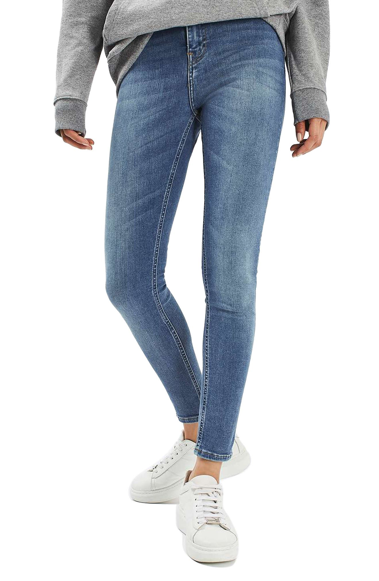 Jamie High Waist Crop Skinny Jeans,                             Alternate thumbnail 2, color,