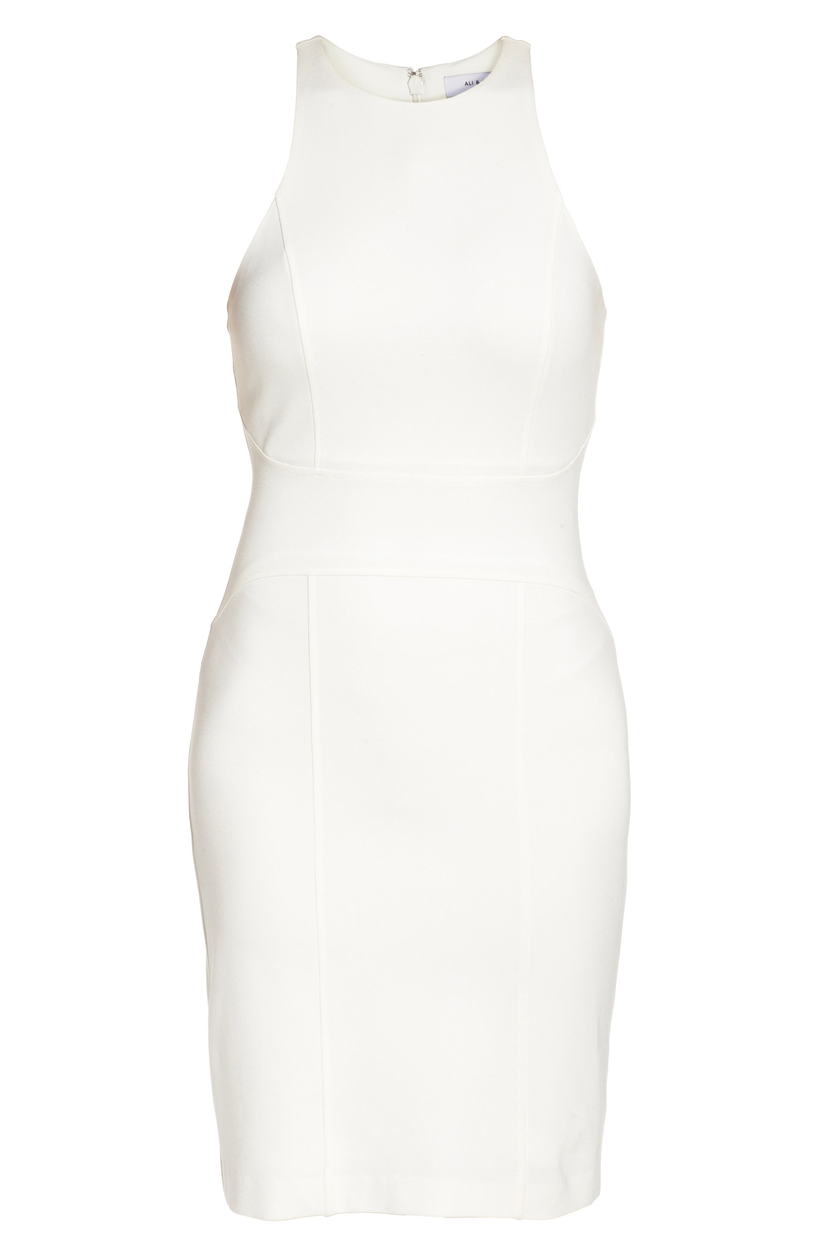 You Ruin Me Body-Con Dress,                             Alternate thumbnail 8, color,                             WHITE