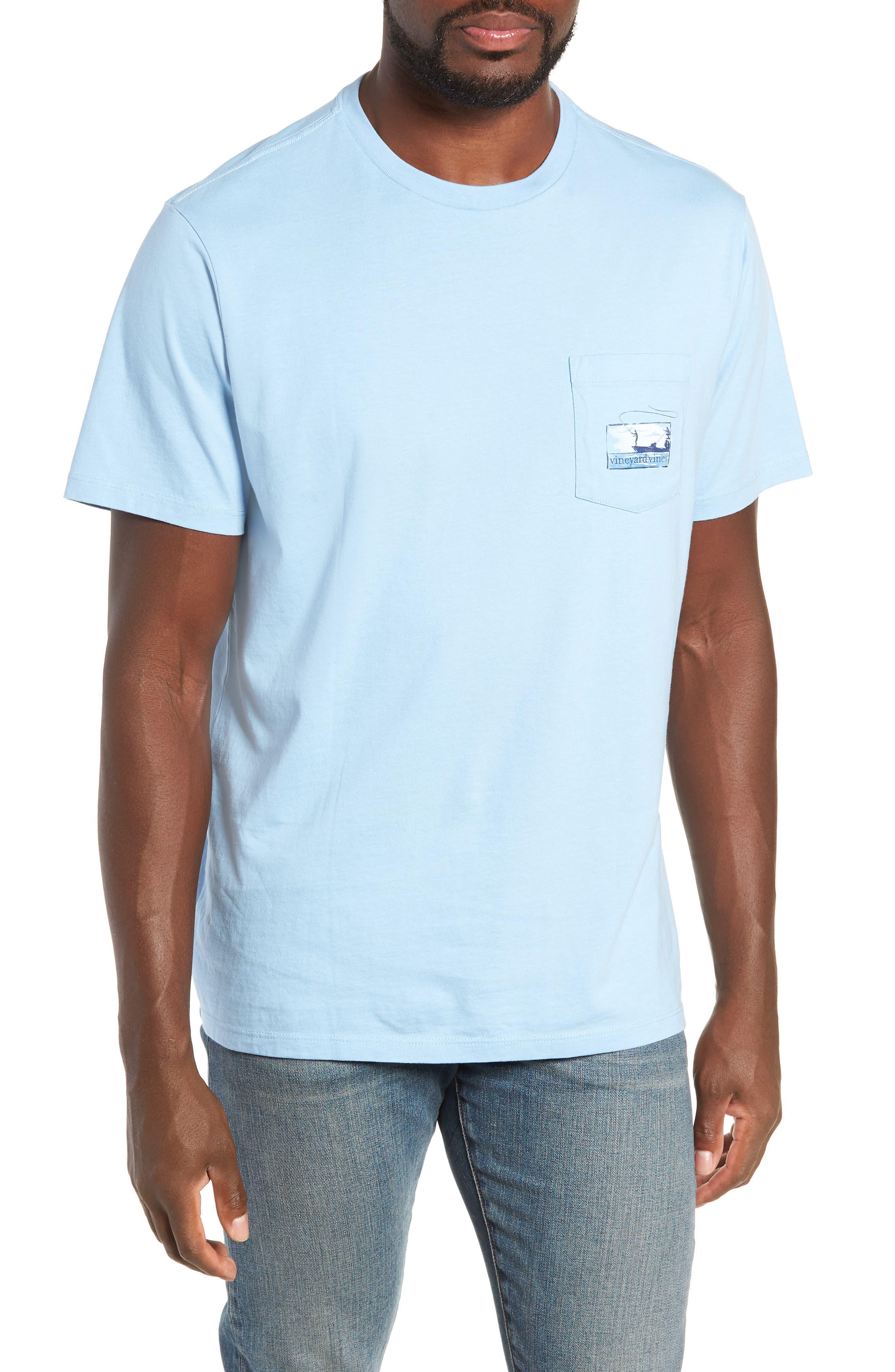Flats Fishing Pocket T-Shirt,                             Main thumbnail 1, color,                             456