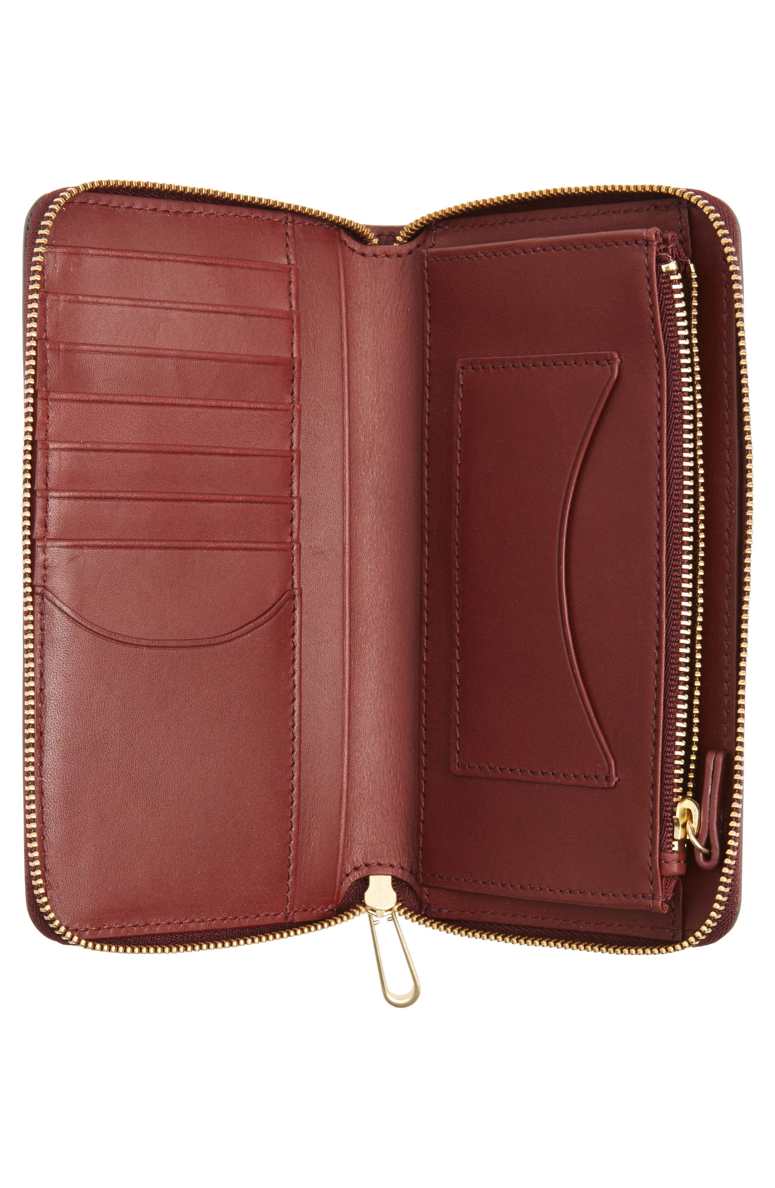 Compact Continental Wallet,                             Alternate thumbnail 4, color,                             021