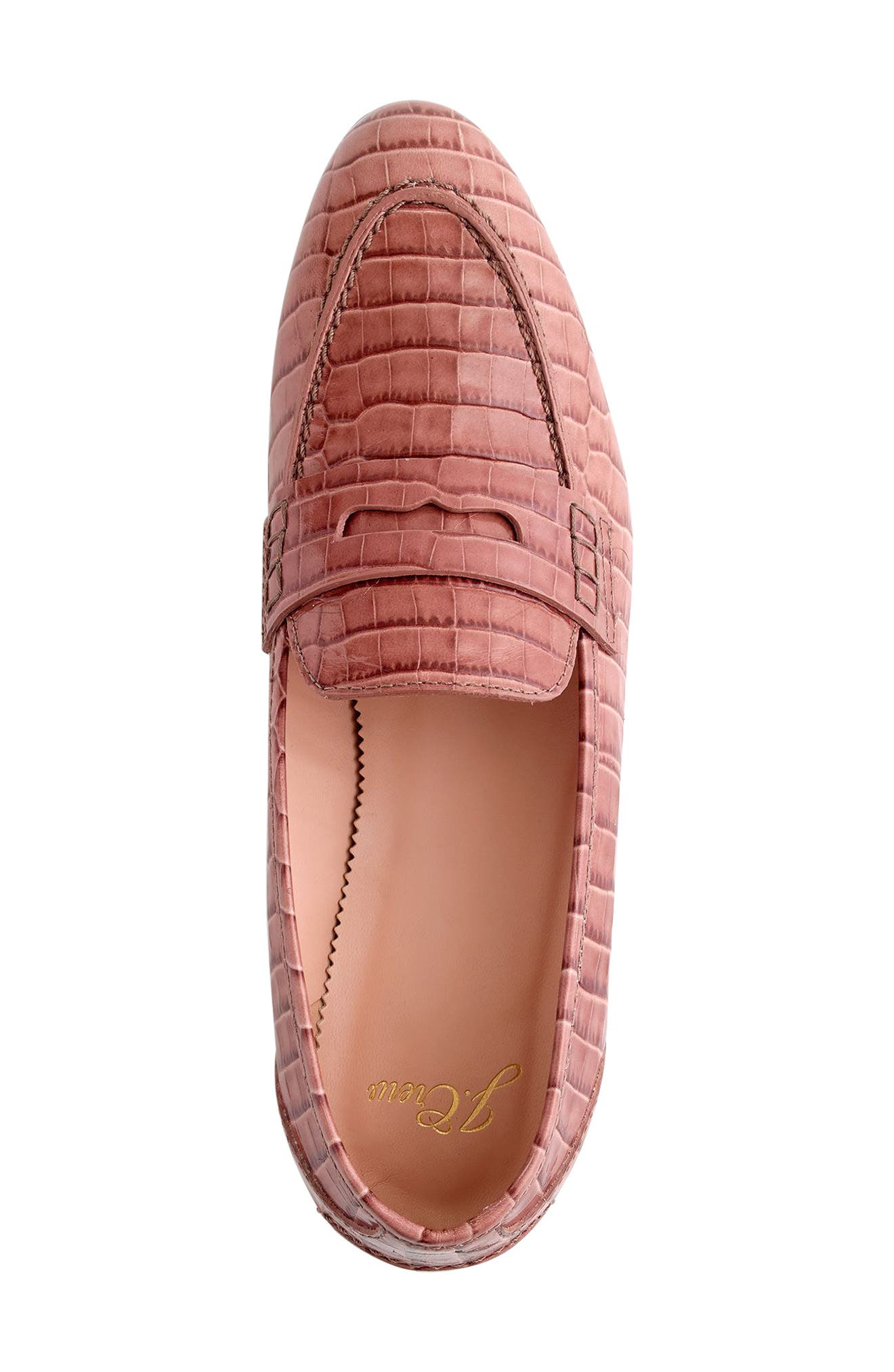 Academy Penny Loafer,                             Alternate thumbnail 3, color,                             JASMINE FROST