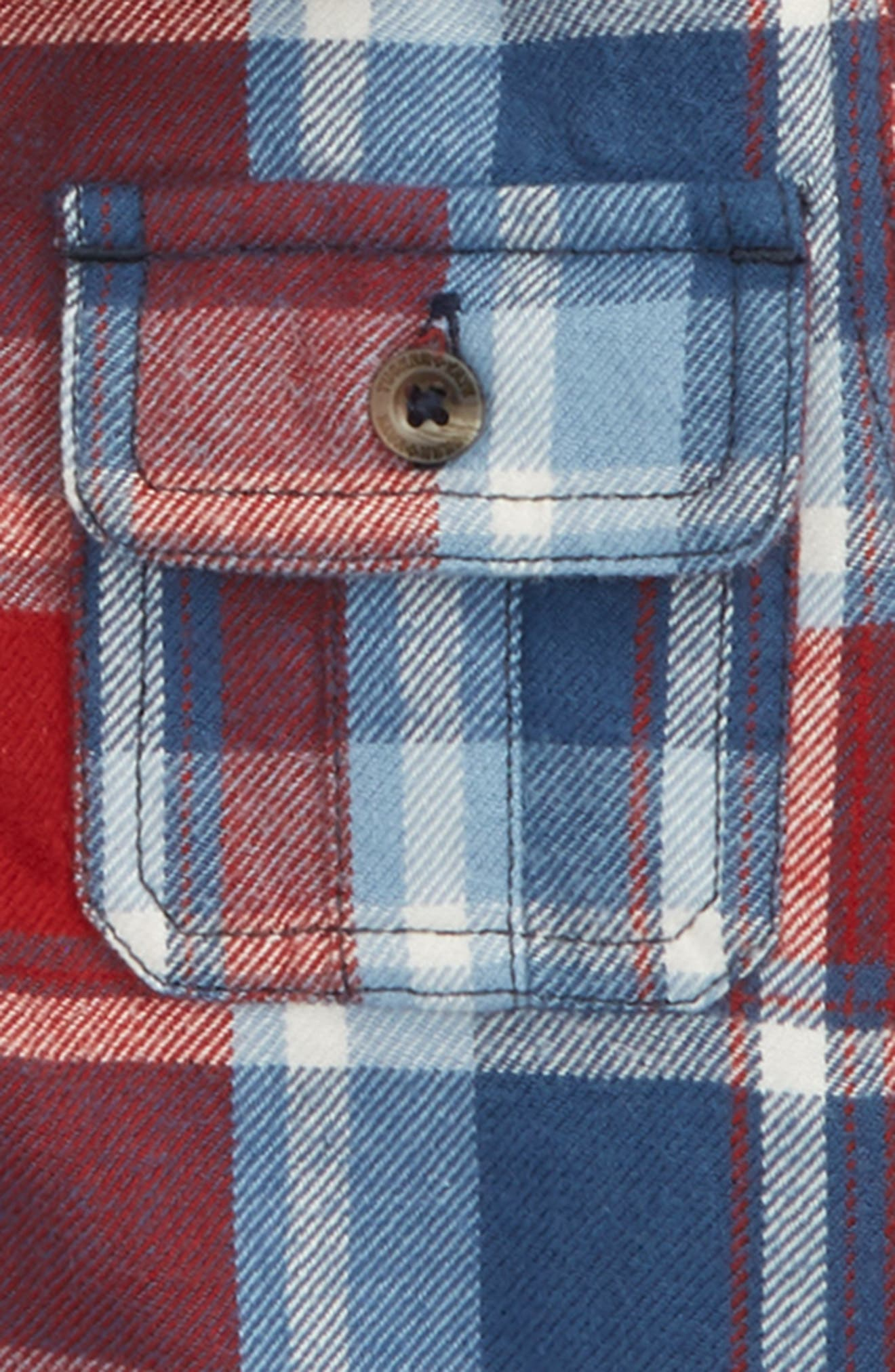 Plaid Shirt Jacket,                             Alternate thumbnail 2, color,                             610