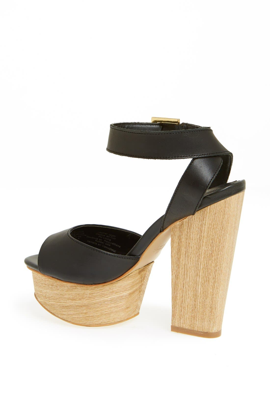 'Aaelle' Platform Sandal,                             Alternate thumbnail 2, color,                             002