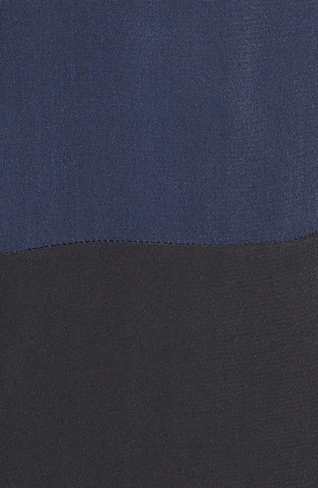 Colorblock Shirtdress,                             Alternate thumbnail 3, color,                             411