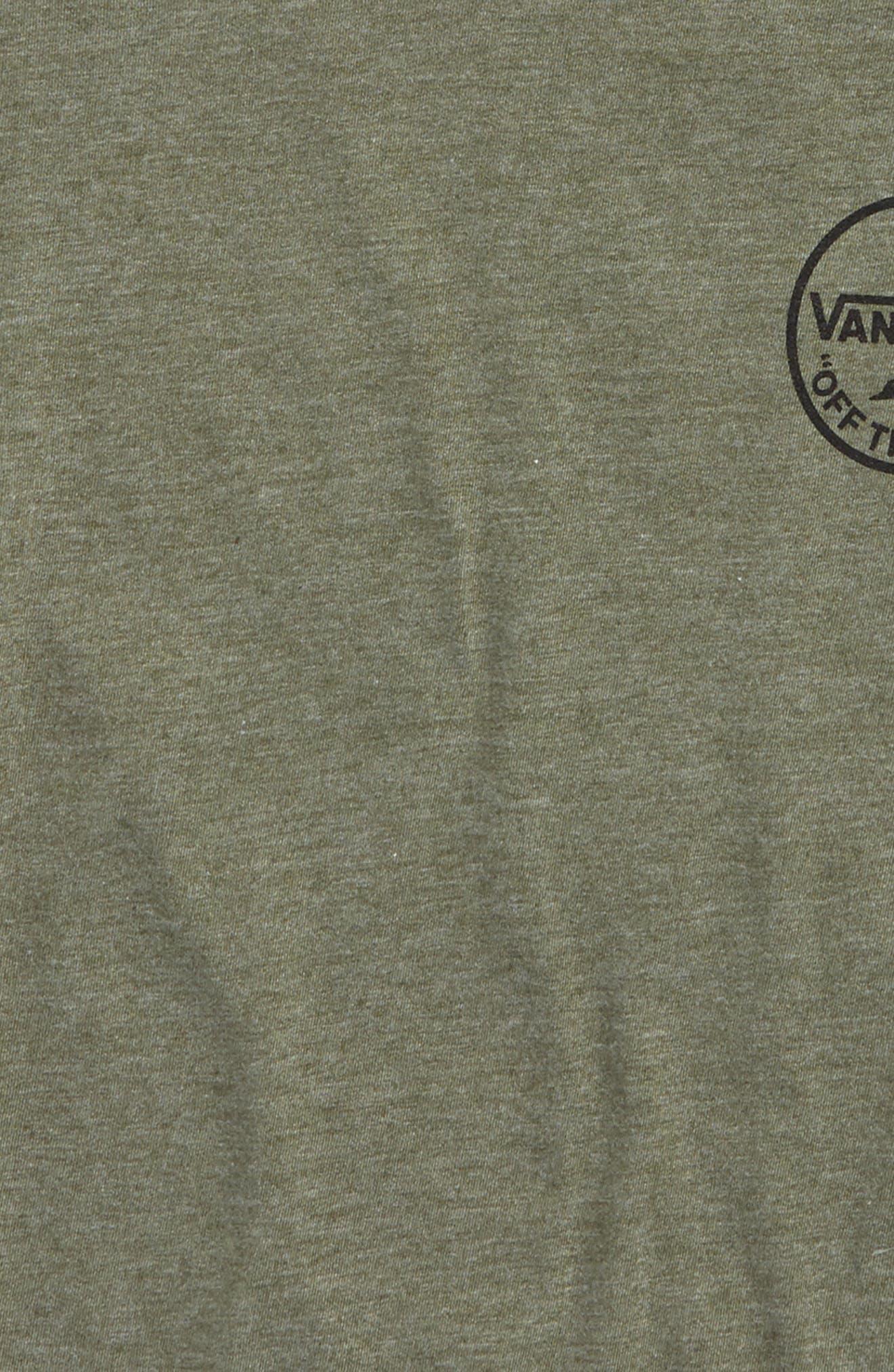 Dual Palm Graphic T-Shirt,                             Alternate thumbnail 3, color,                             301