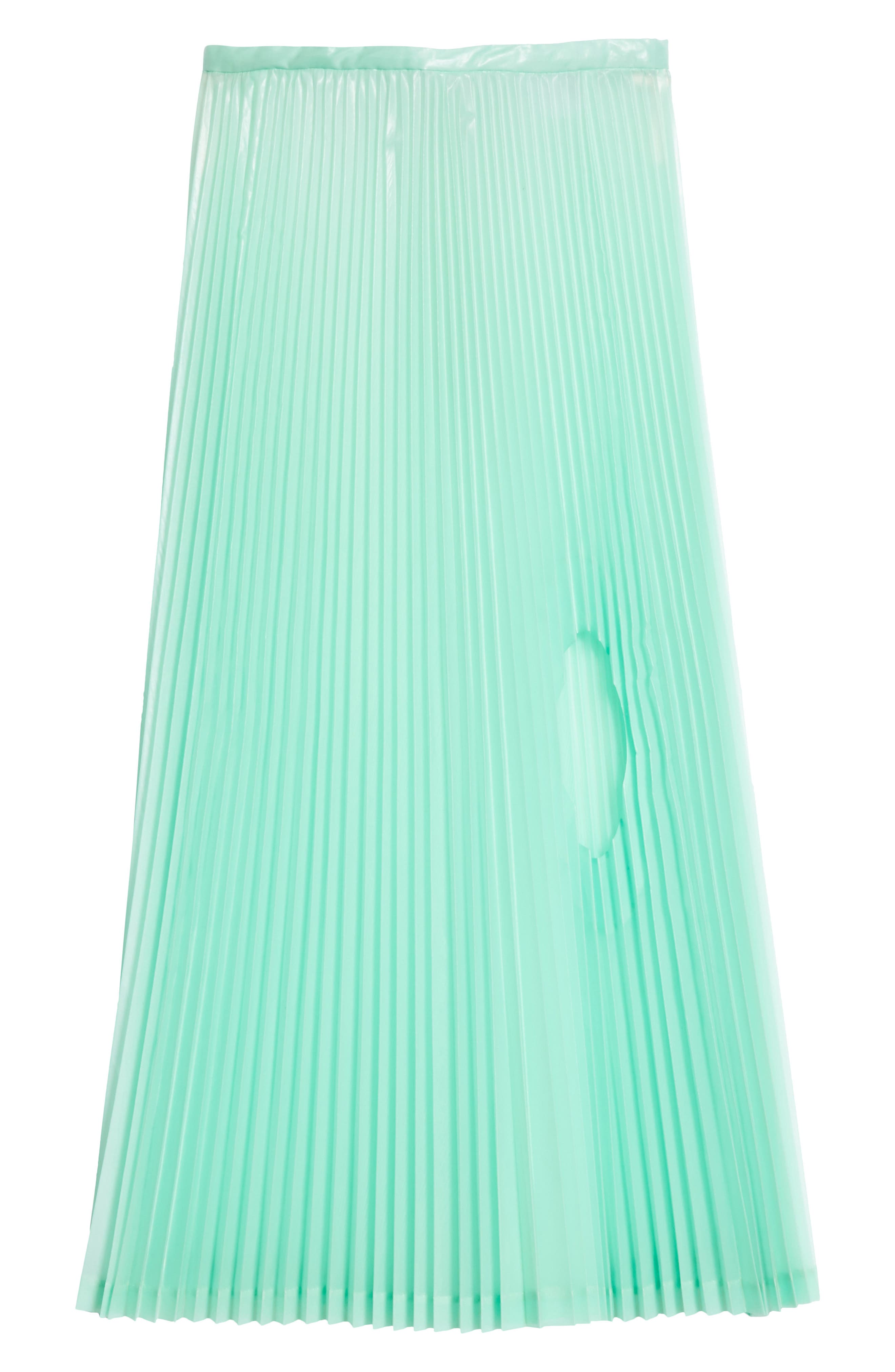 Pleated Keyhole Skirt,                             Alternate thumbnail 6, color,