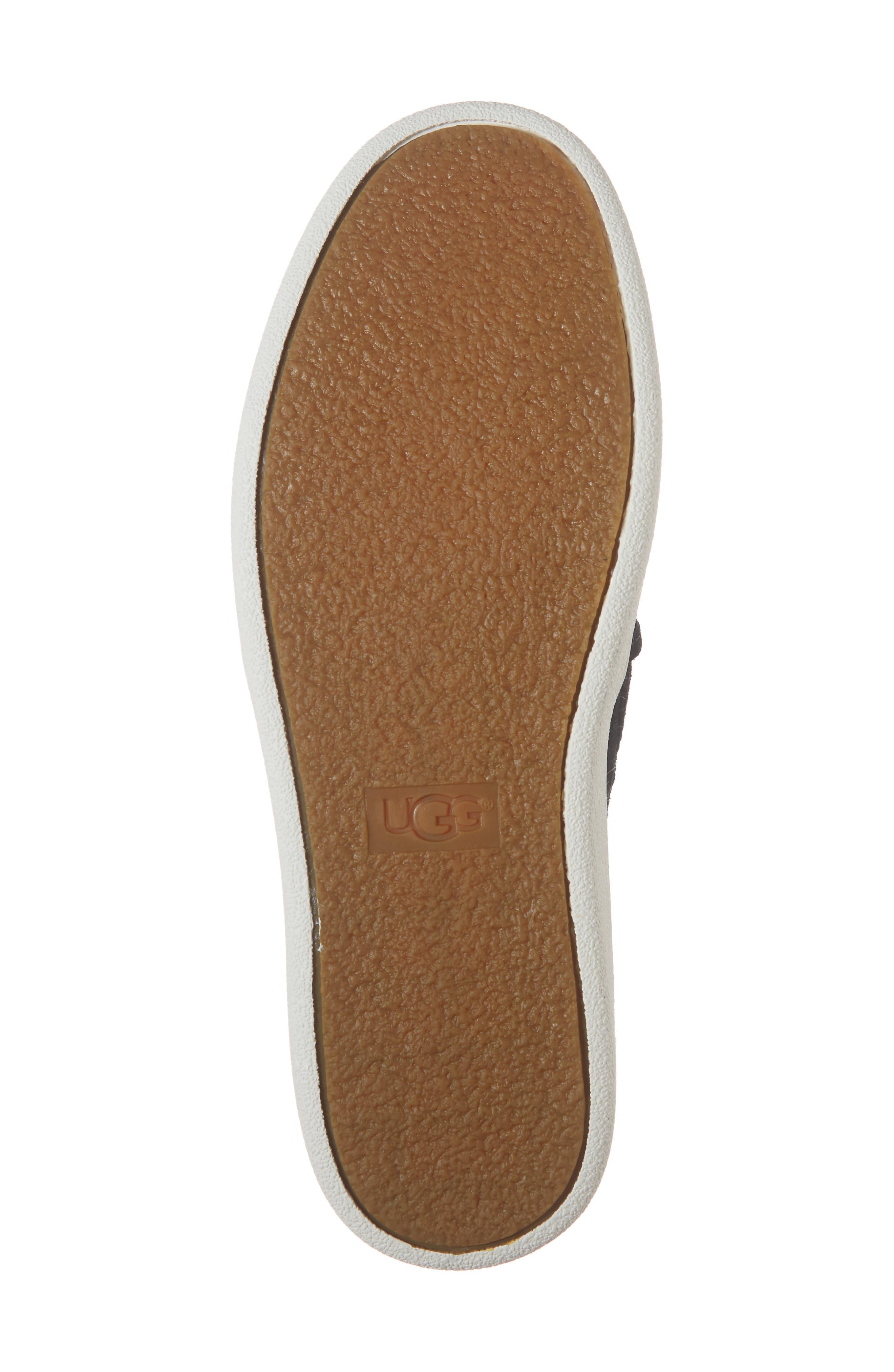 Cas Slip-On Sneaker,                             Alternate thumbnail 6, color,                             BLACK