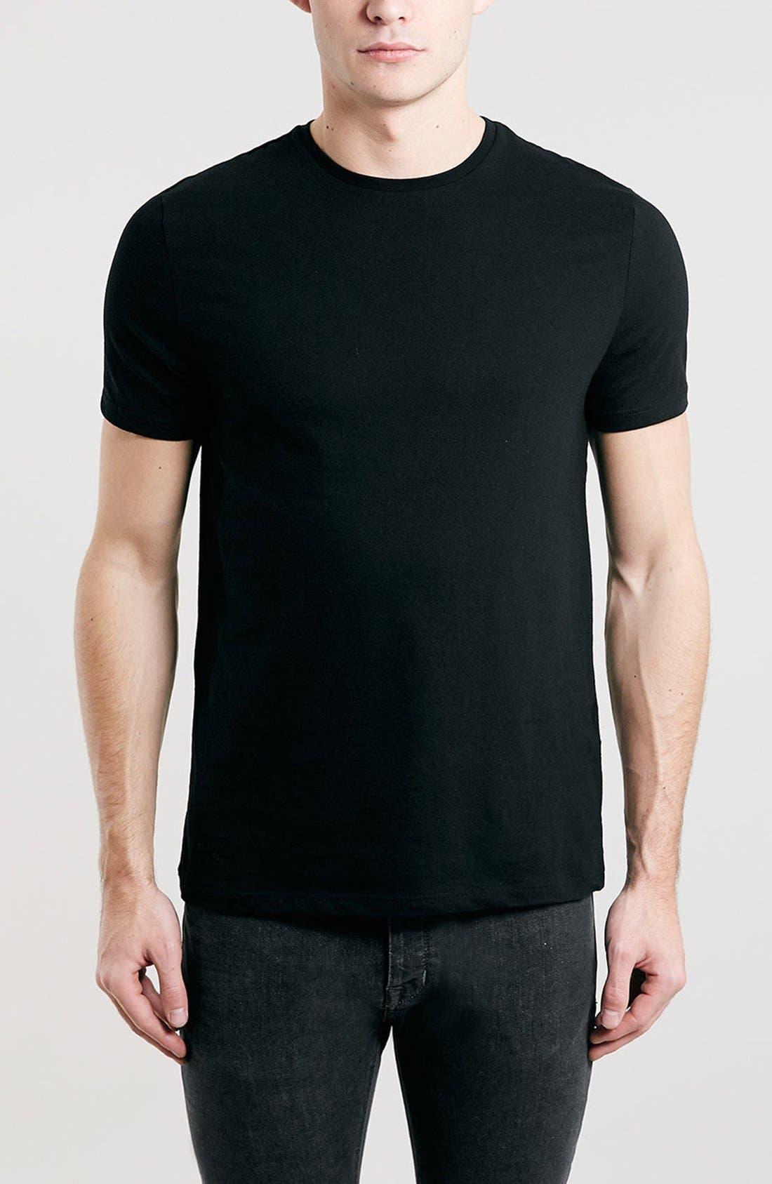 Slim Fit Crewneck T-Shirt,                             Main thumbnail 1, color,