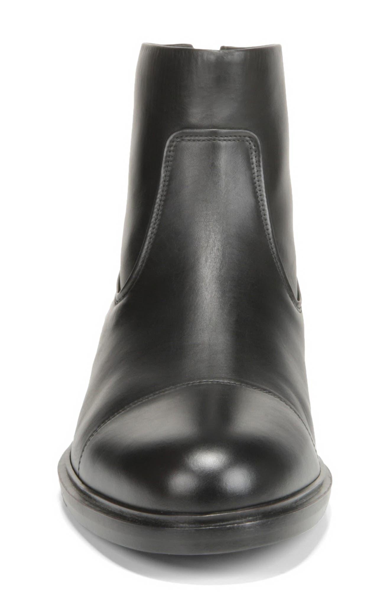 Beckett Zip Boot,                             Alternate thumbnail 4, color,                             BLACK